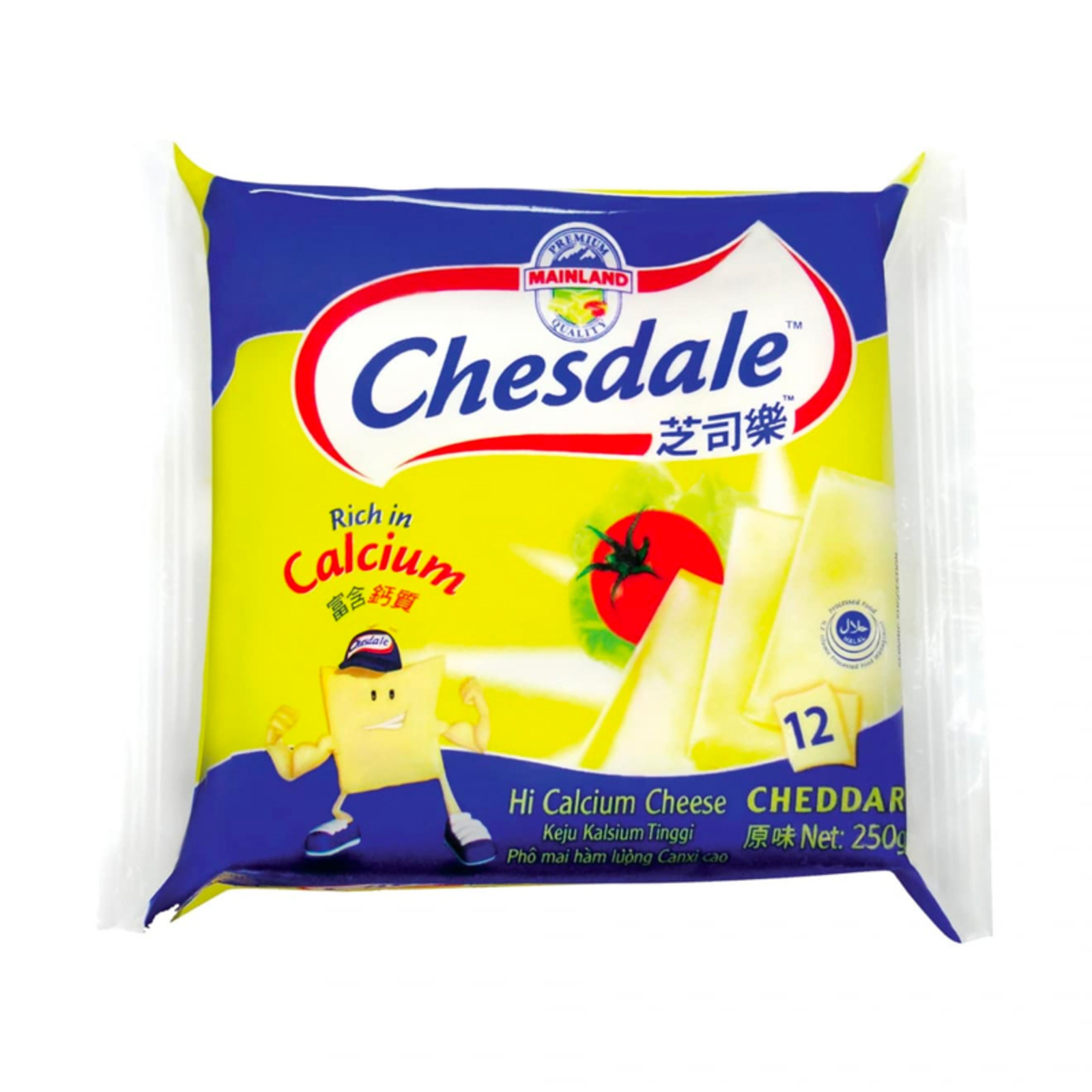 Chesdale Cheddar Cheese Slices - Original