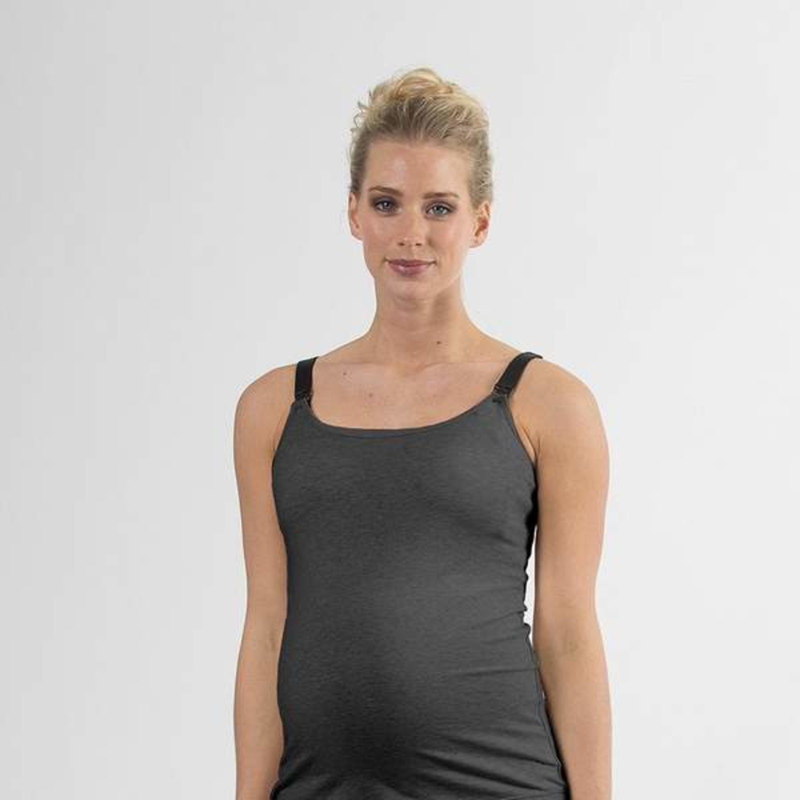 Spring Maternity Madalene Nursing Camisole Oatmeal