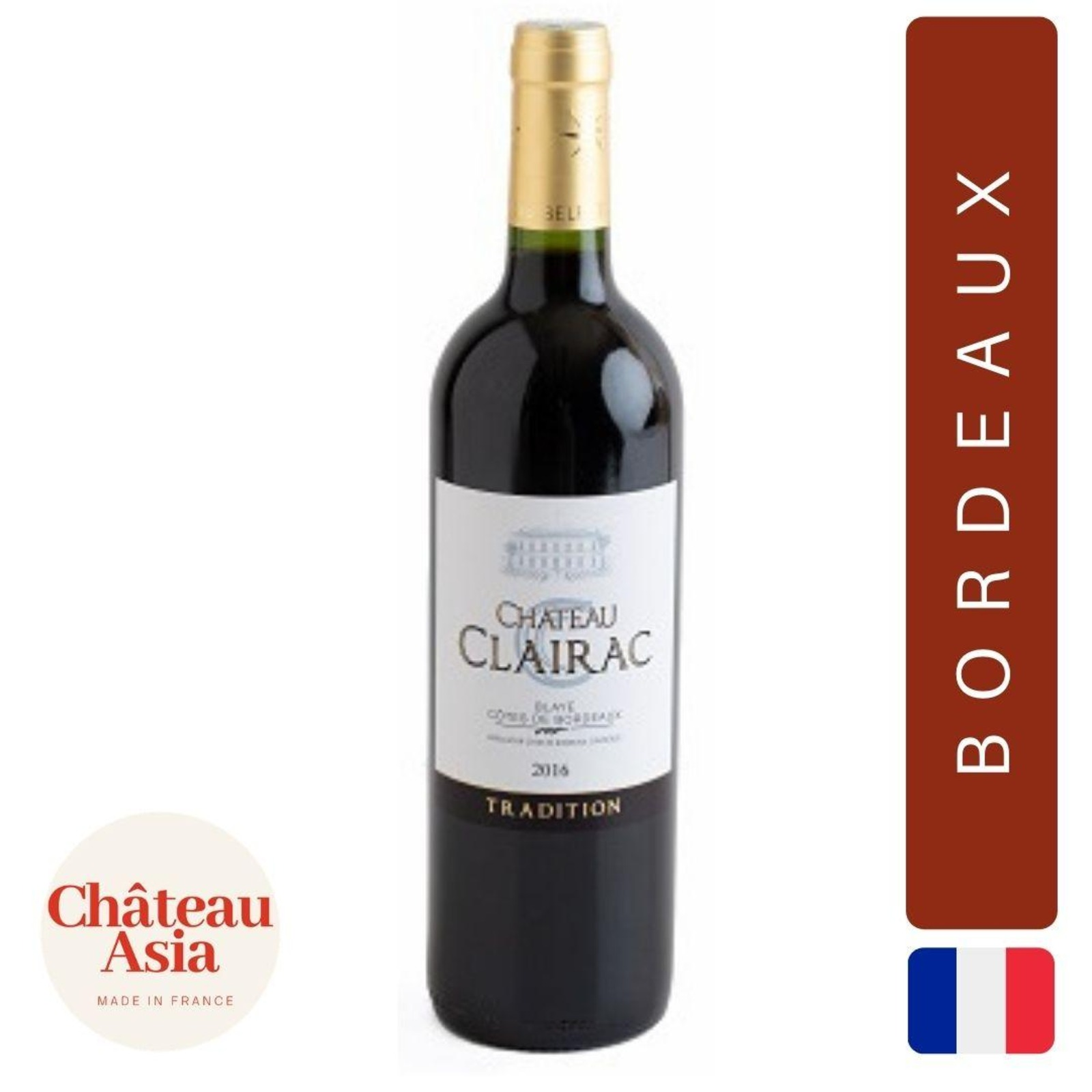 Chateau de Clairac - Blaye Ctes de Bordeaux - Red Wine