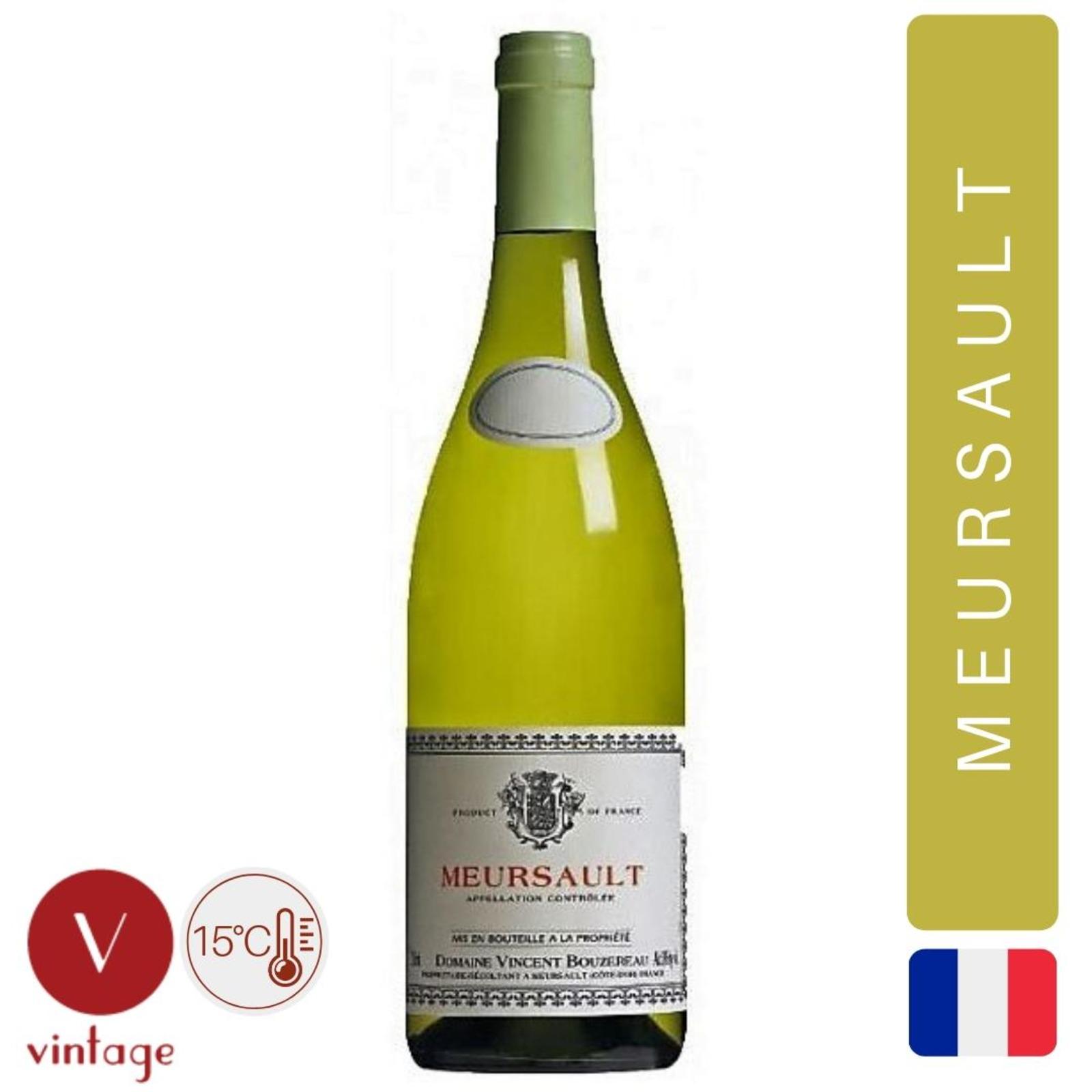 Vincent Bouzereau - Meursault - Burgundy - White Wine
