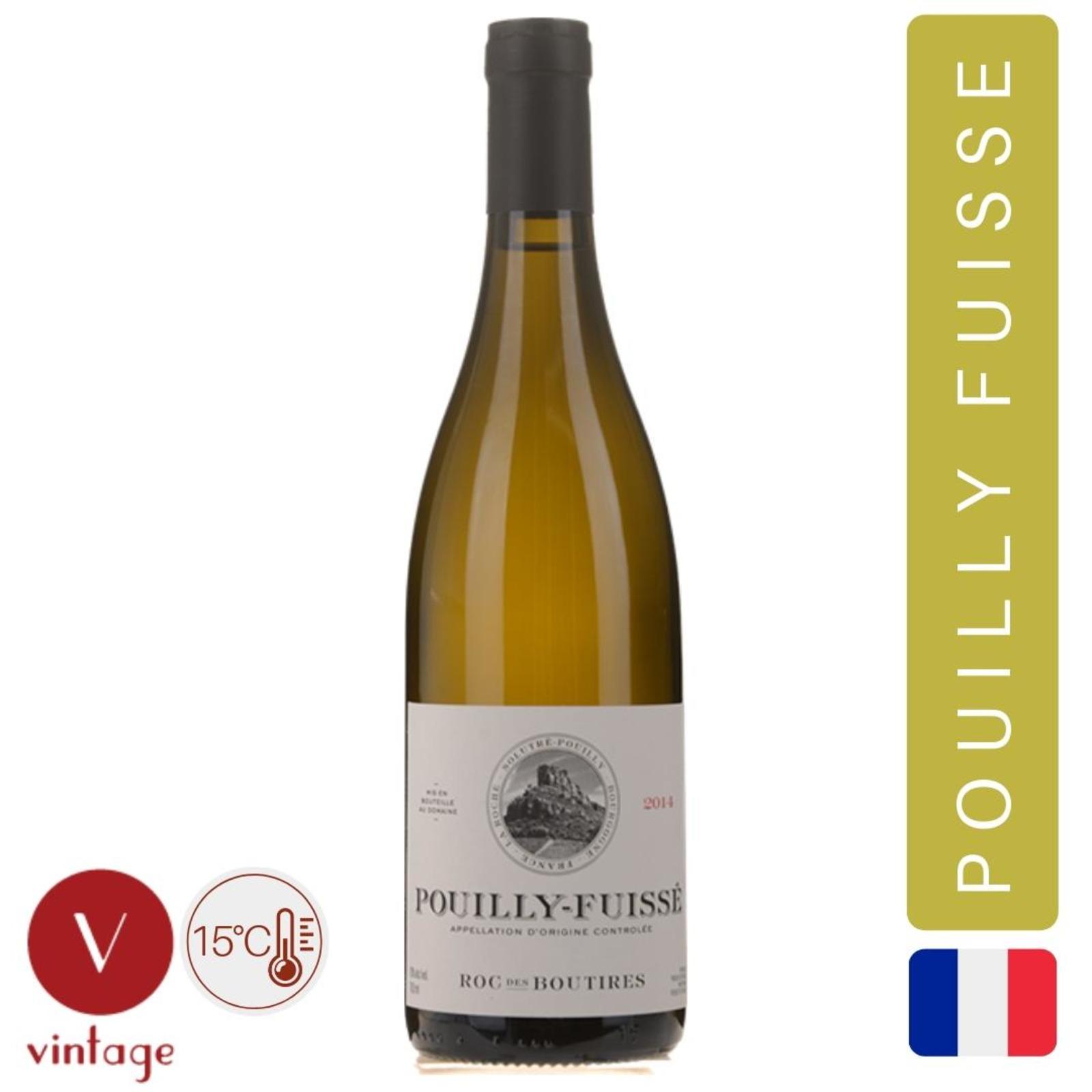 Domaine du Roc des Boutires - Pouilly Fuisse - White Wine