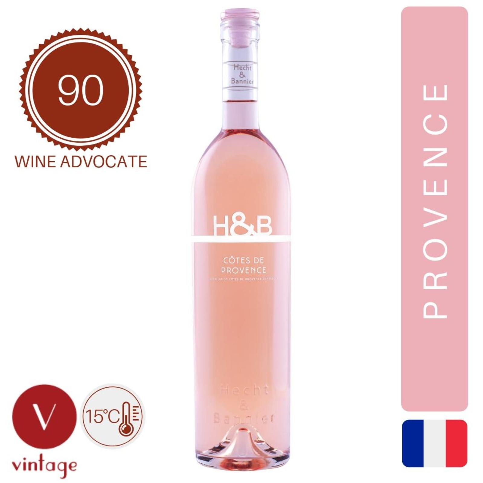 Hecht & Bannier - Cotes De Provence - Magnum - Rose Wine