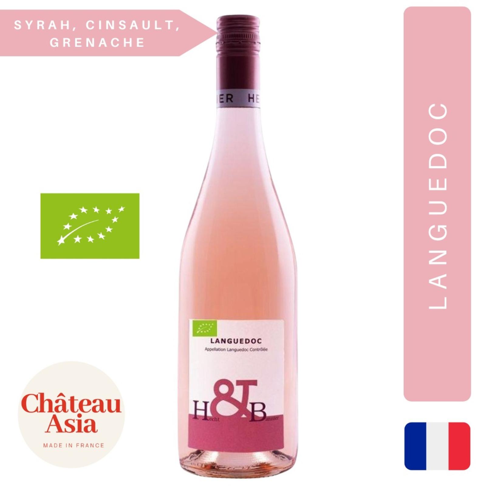 Hecht & Bannier Organic Provence Rose Wine