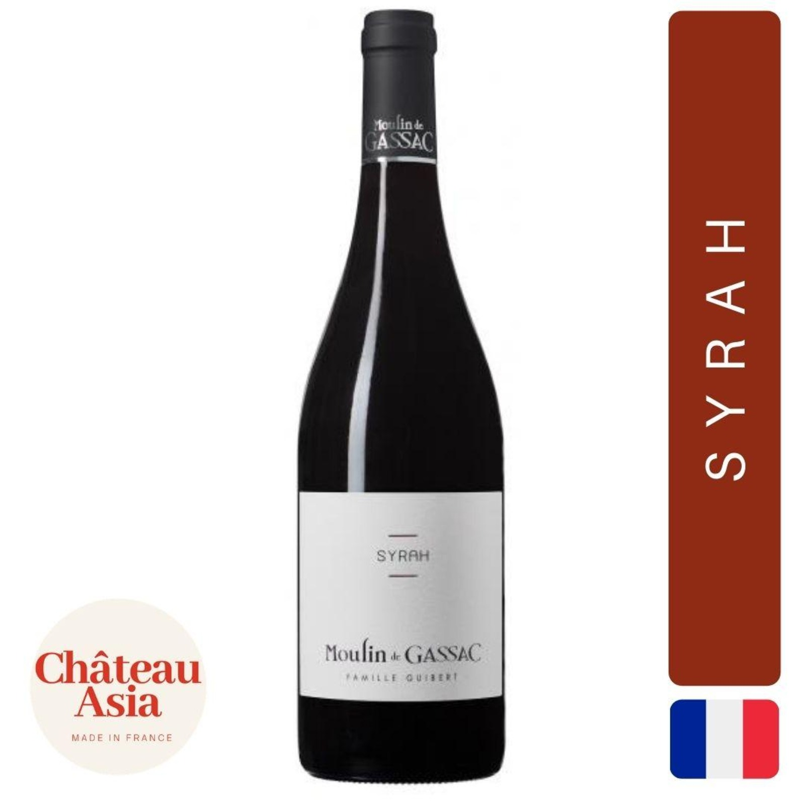 Moulin de Gassac - Syrah - Red Wine