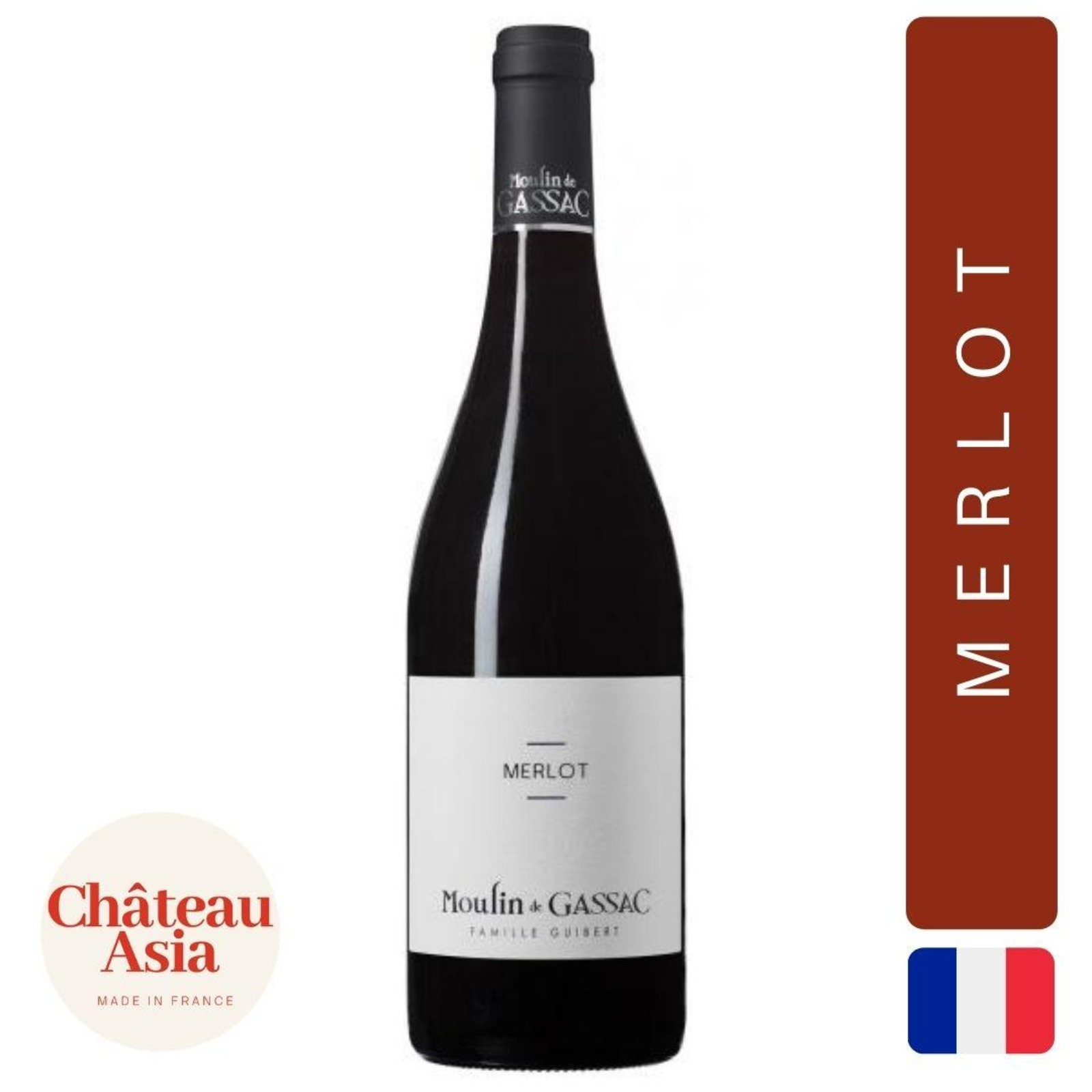 Moulin de Gassac - Merlot - Red Wine
