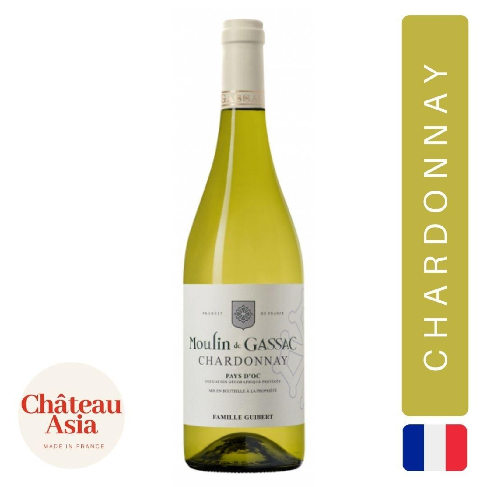 Moulin de Gassac - Chardonnay - White Wine