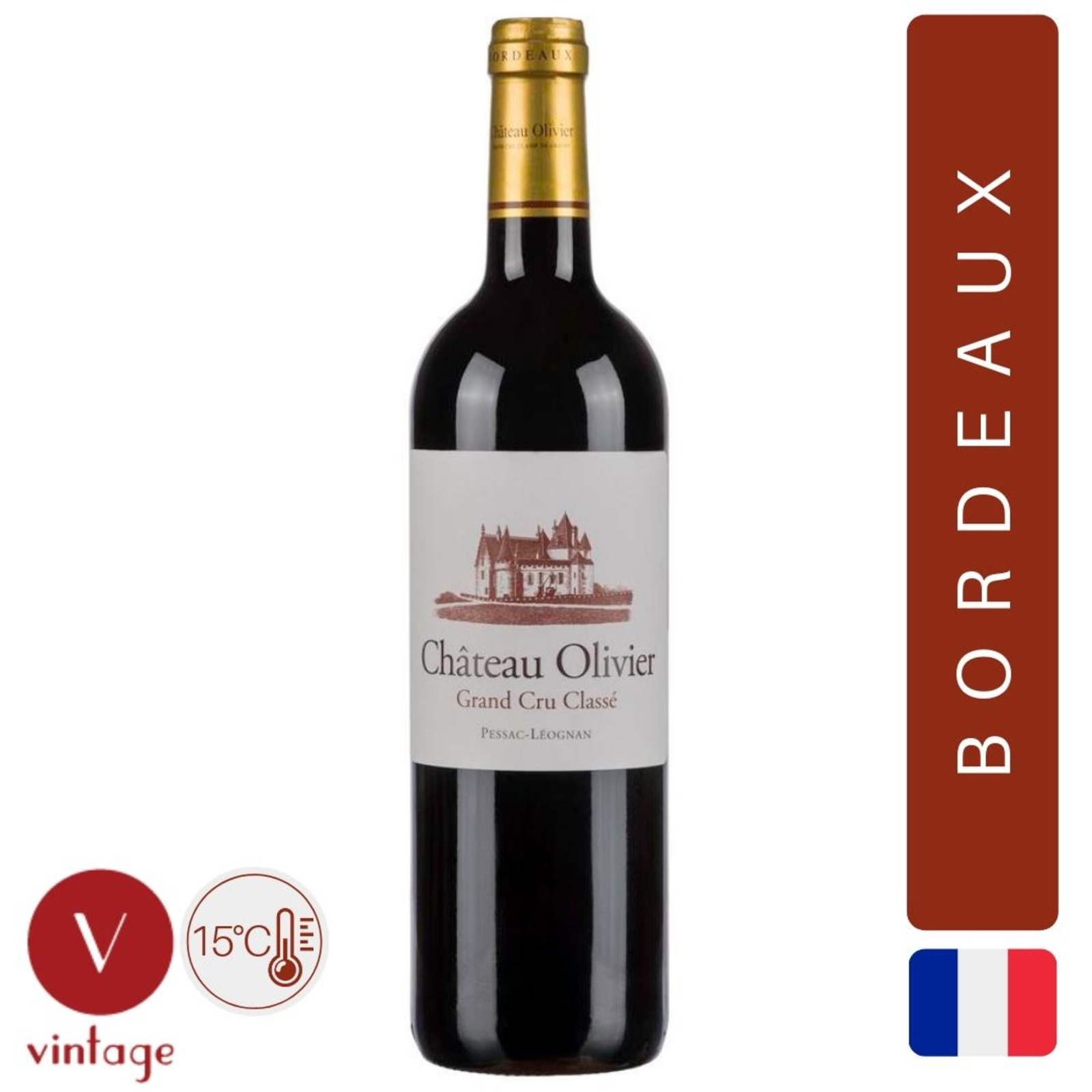 Chateau Olivier - Pessac Leognan 2012 - Red Wine