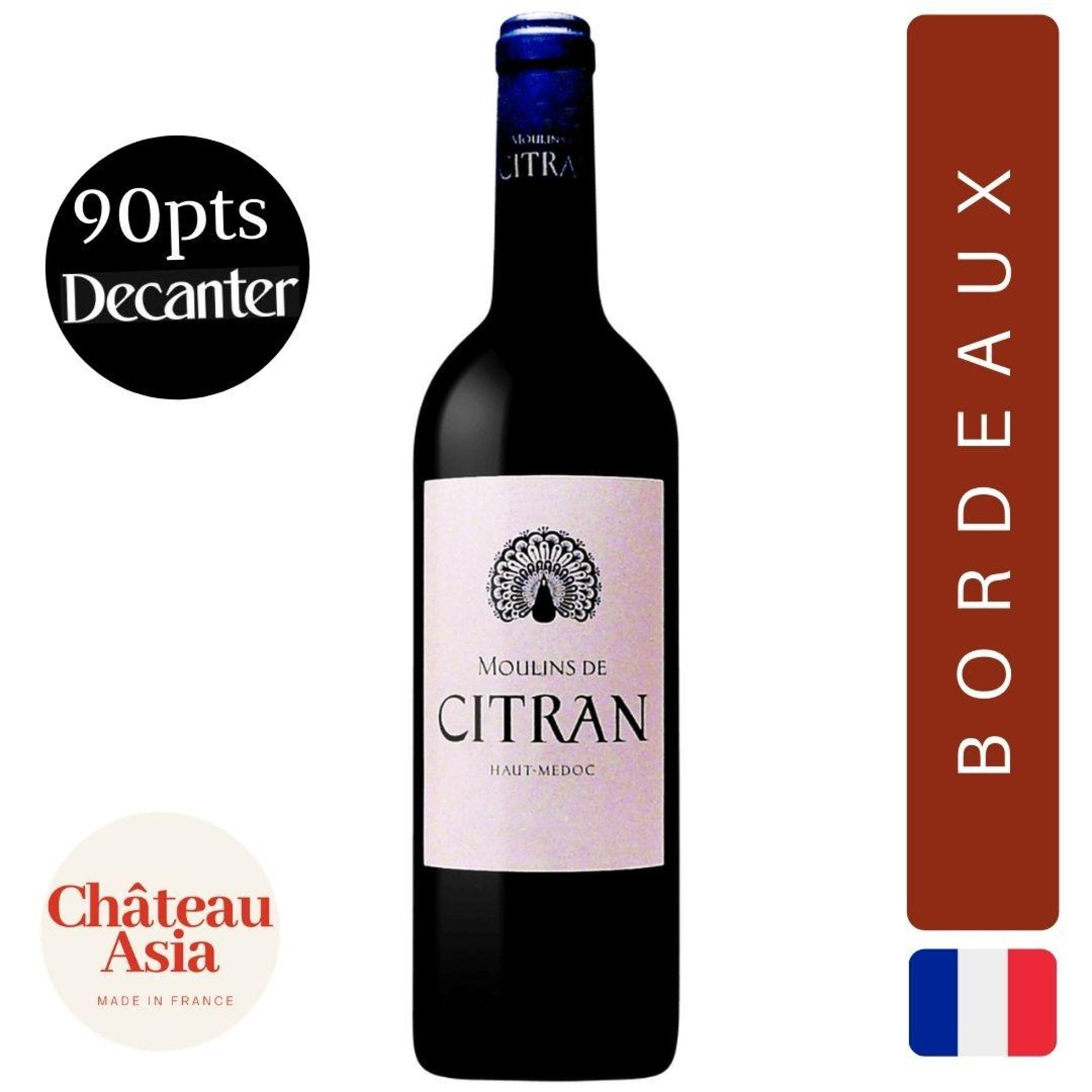 Moulins de Citran - Bordeaux - Red Wine