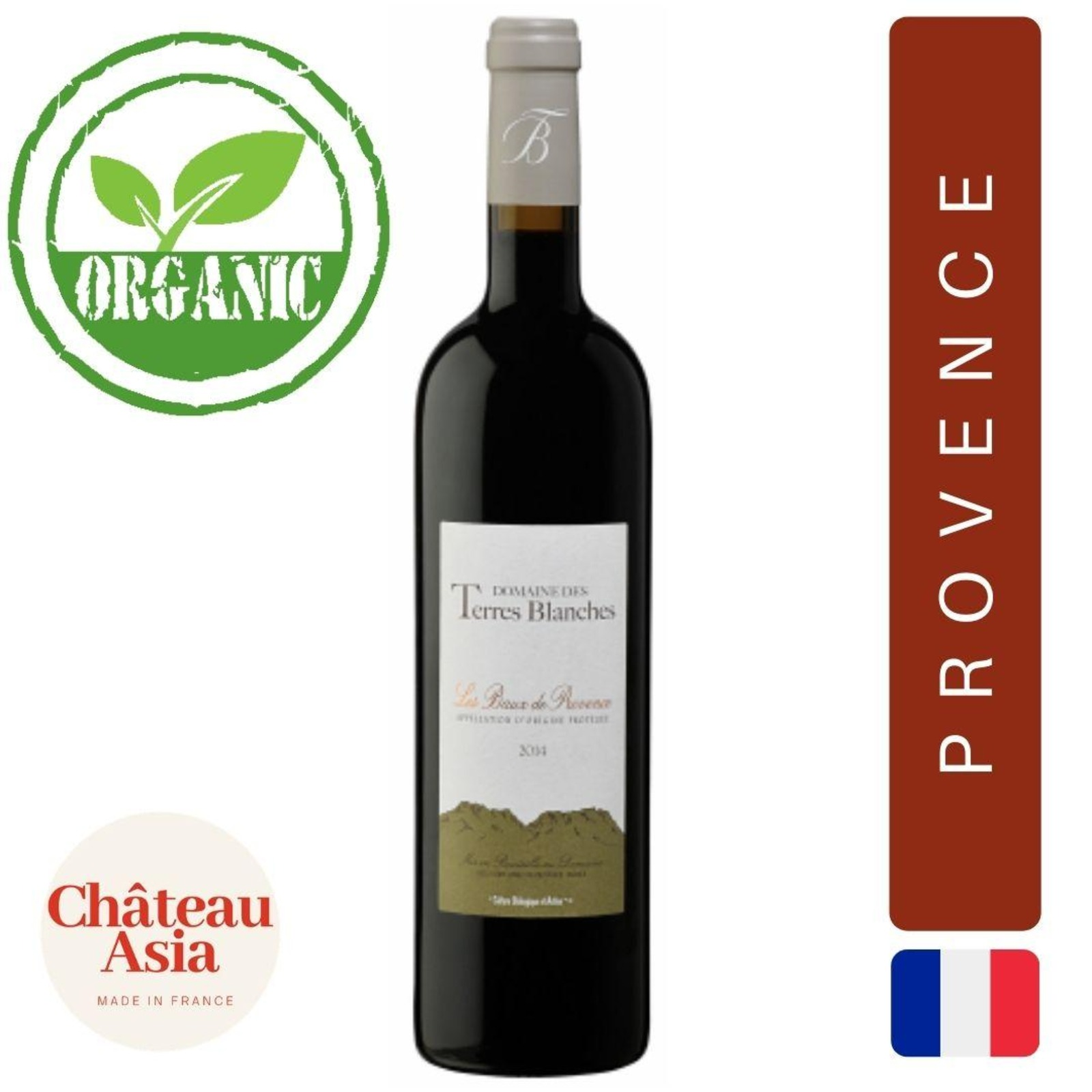 Domaine des Terres Blanches - Provence - Red Wine
