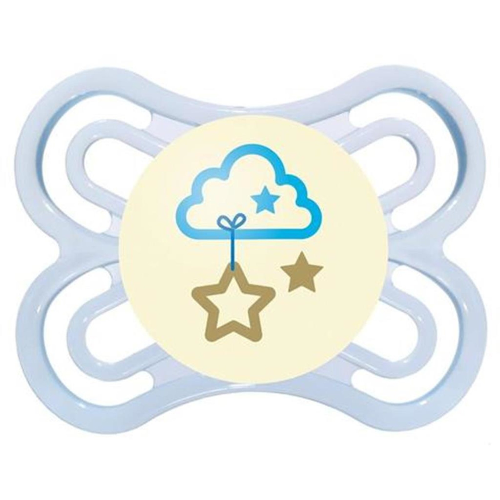 MAM Perfect Pacifier NIGHT 0+ - Grey