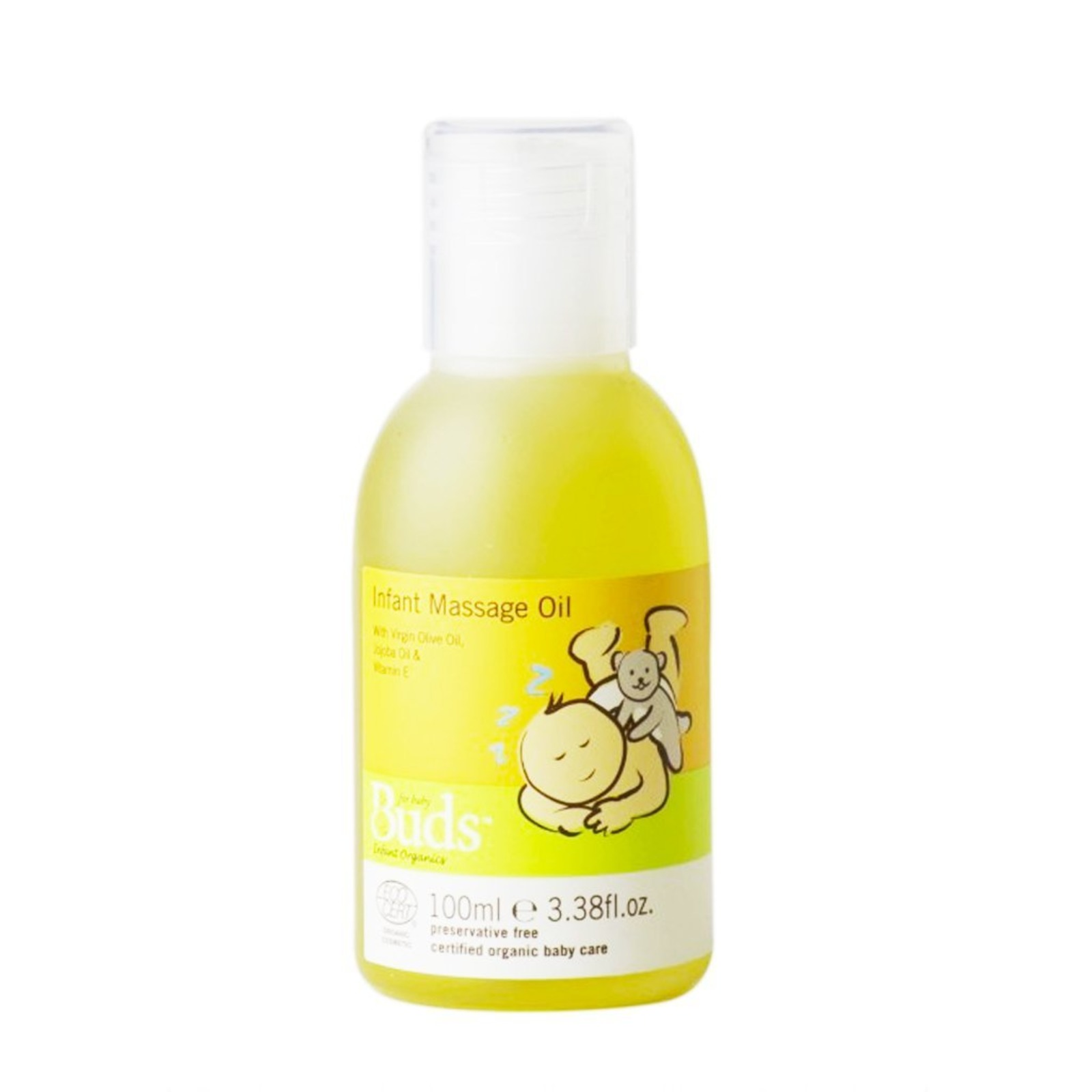 Buds Organics BEO Infant Massage Oil