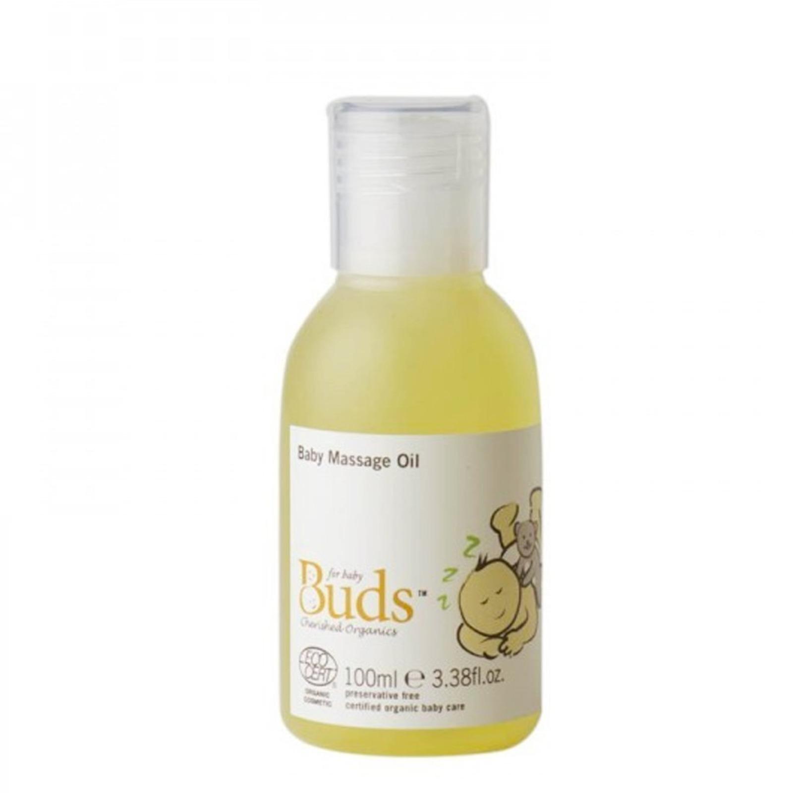 Buds Organics BCO Baby Massage Oil
