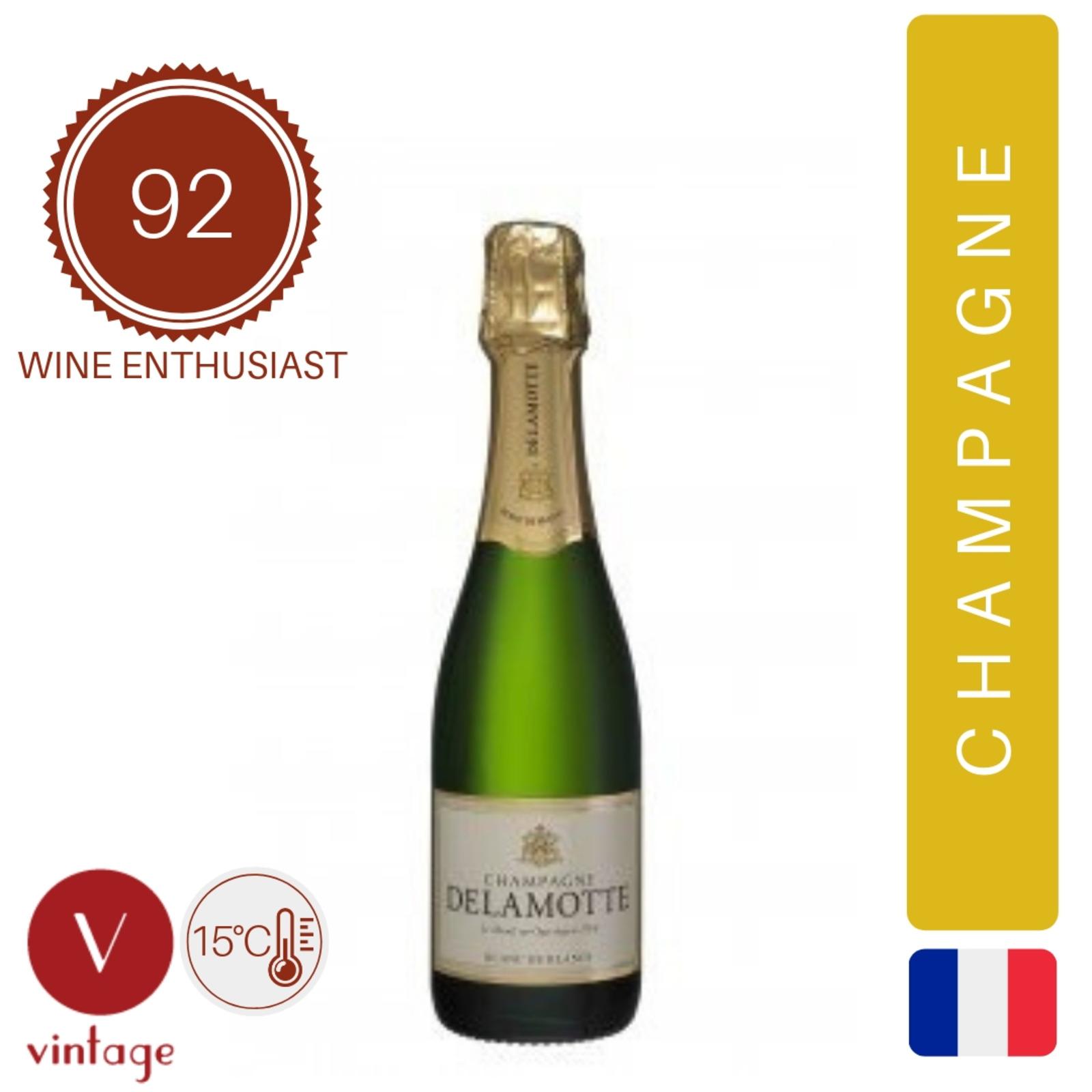 Champagne Delamotte - Brut Half Bottle