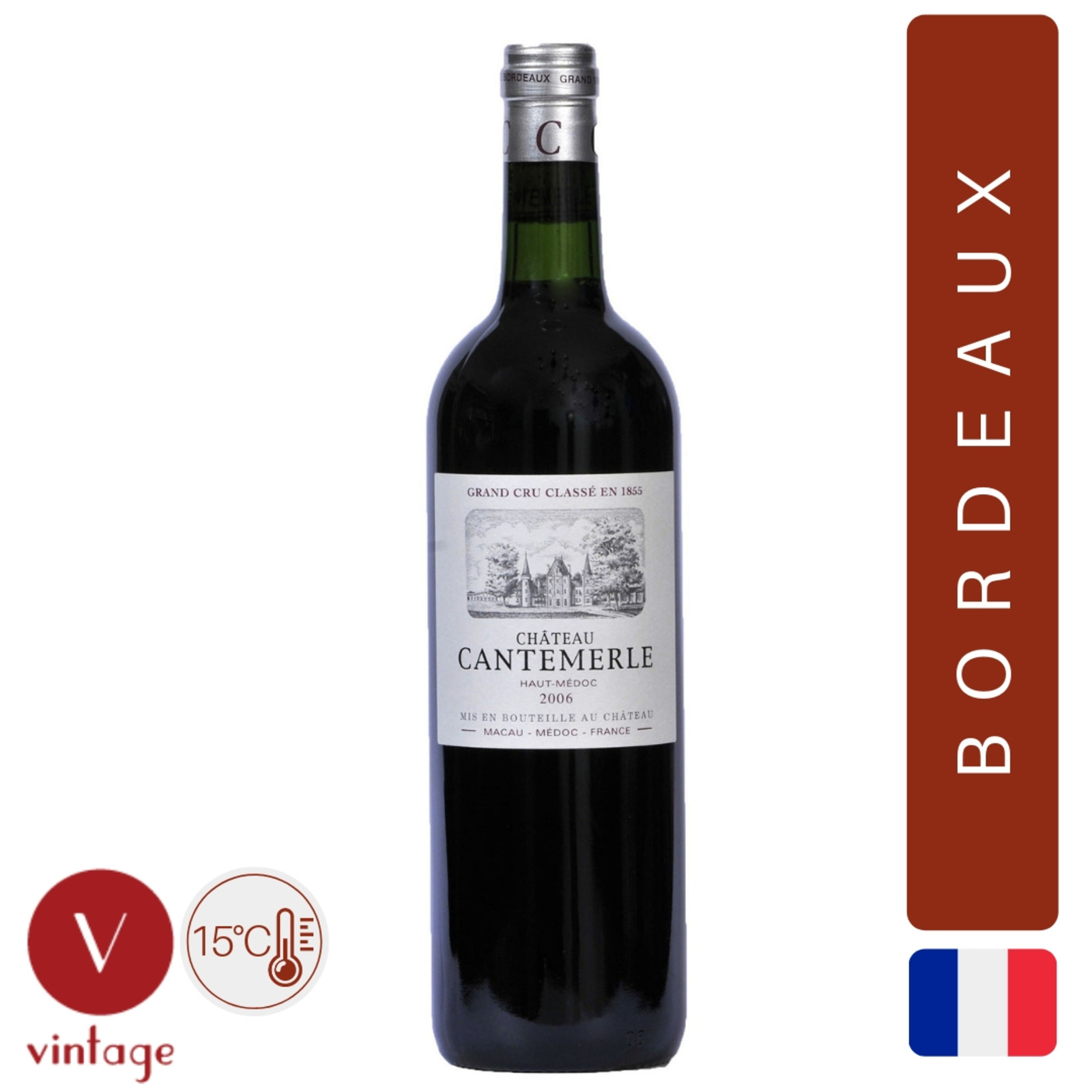 Chateau Cantemerle - Bordeaux - Red Wine