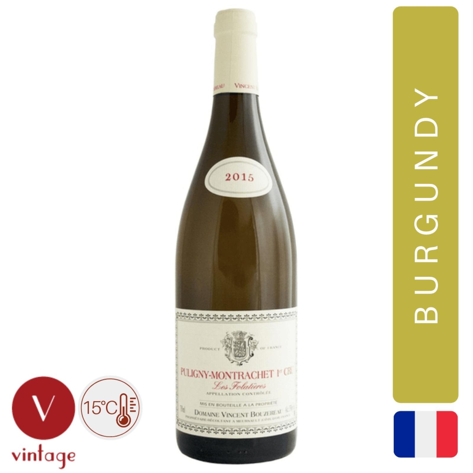 Vincent Bouzereau - Puligny-Montrachet - White Wine