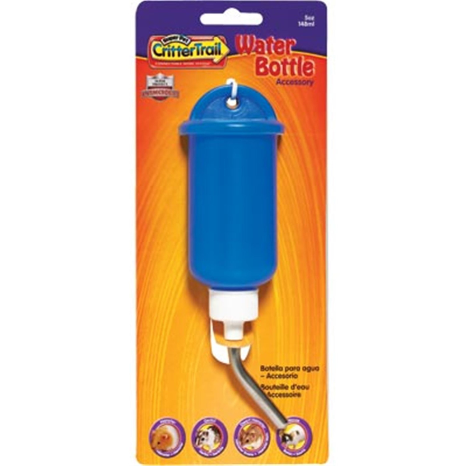 Super Pet Crittertrail Water Bottle 5Oz
