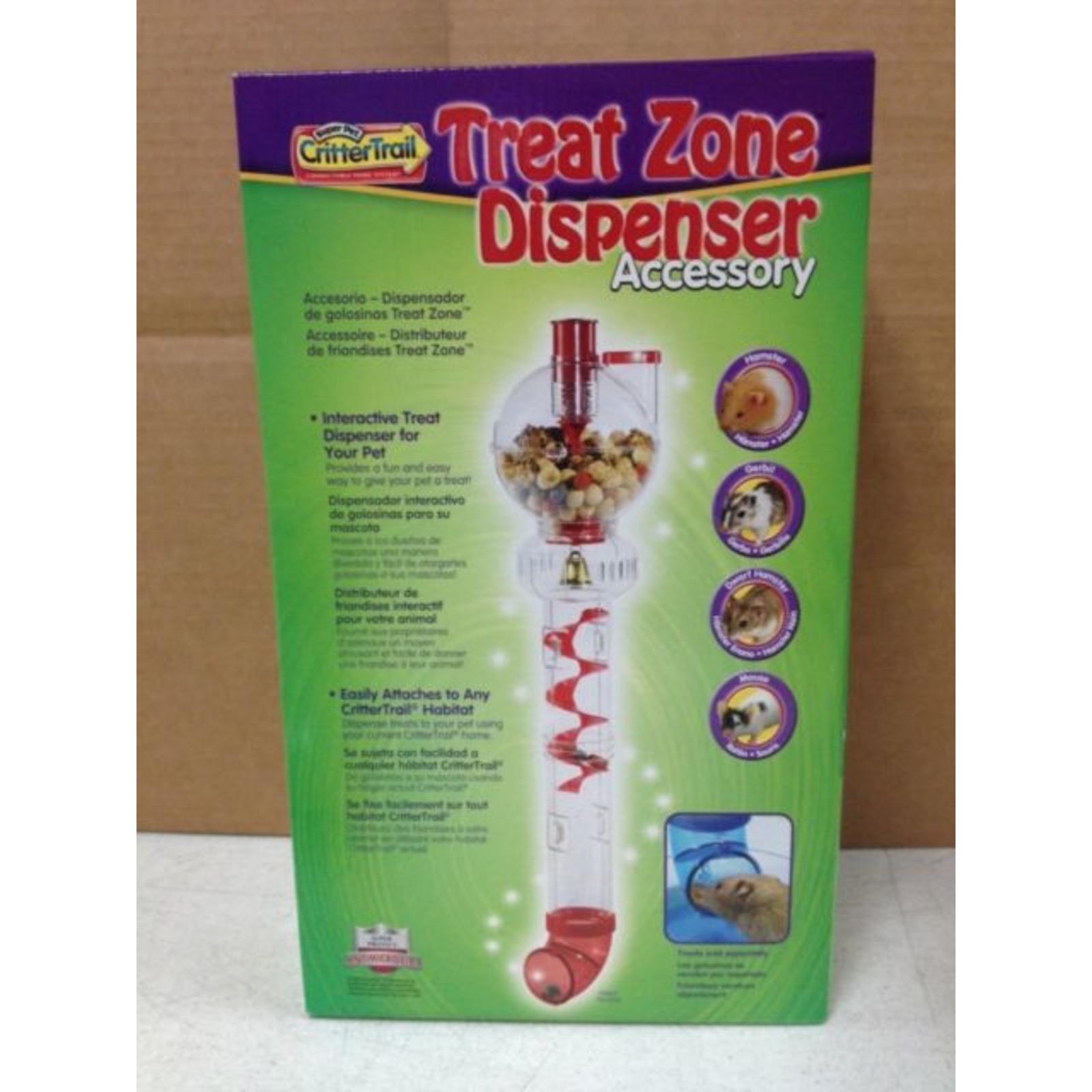 Super Pet Crittertrail Treat Zone Dispenser