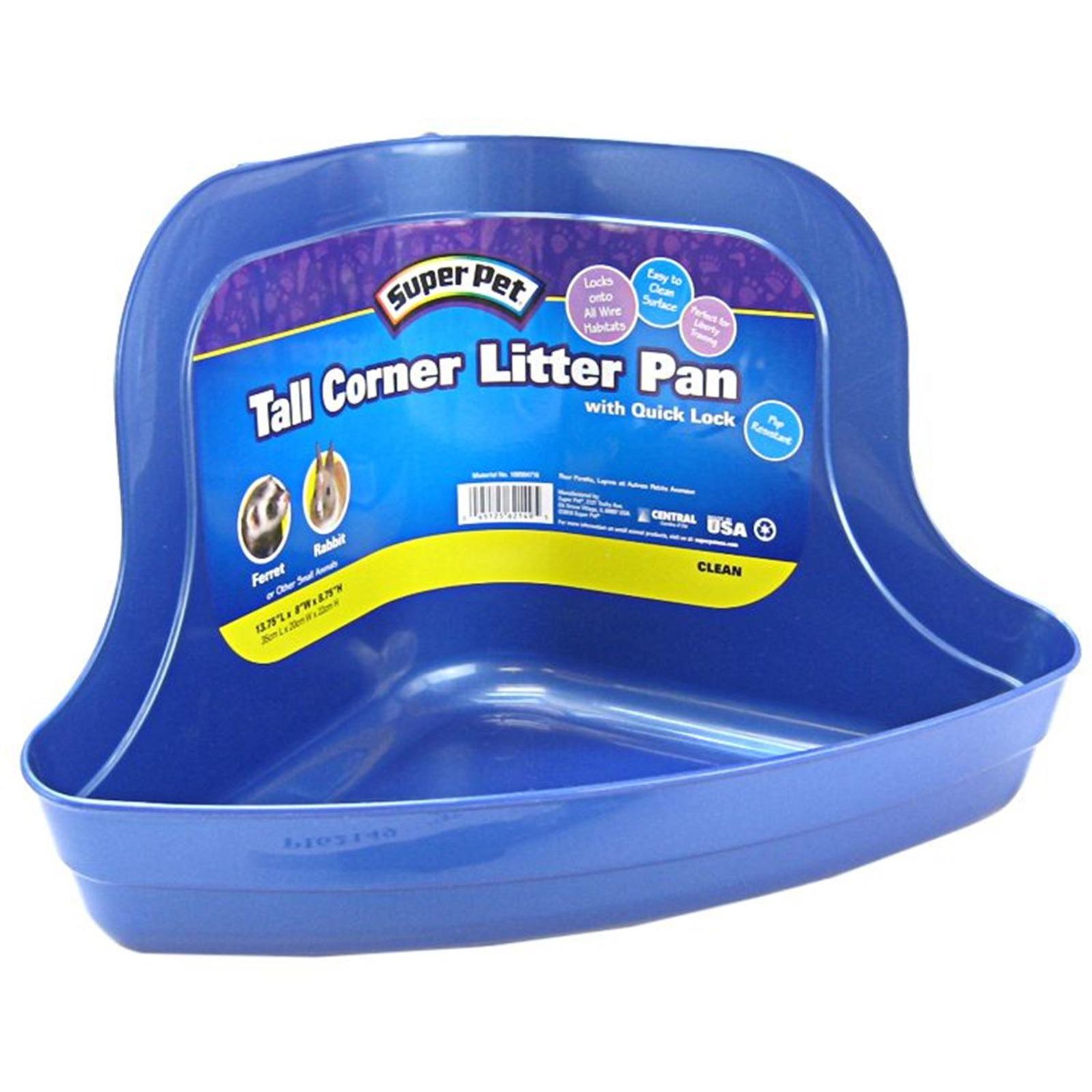 Super Pet Tall Corner Litter Pan