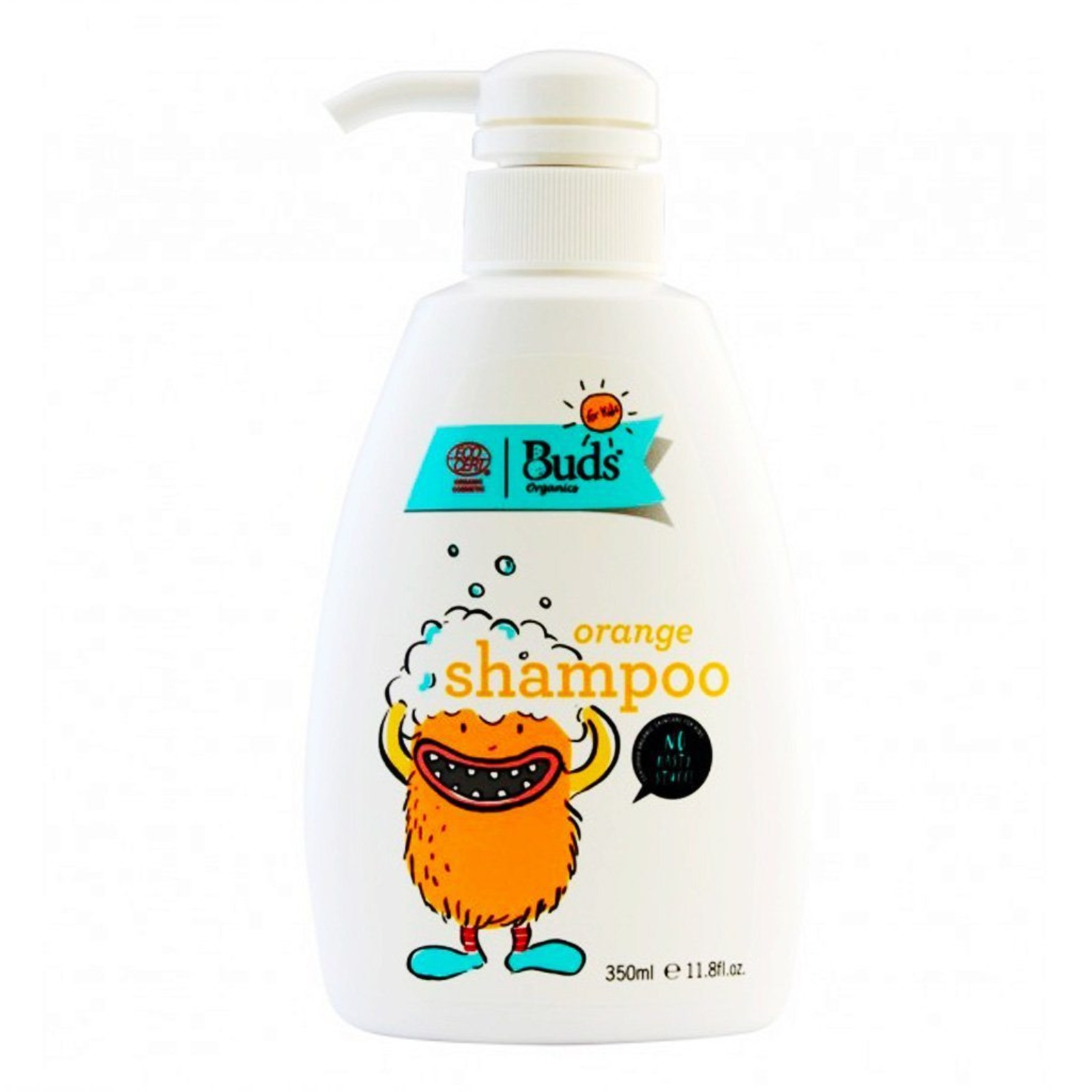 Buds Organics Bfk Shampoo - Orange