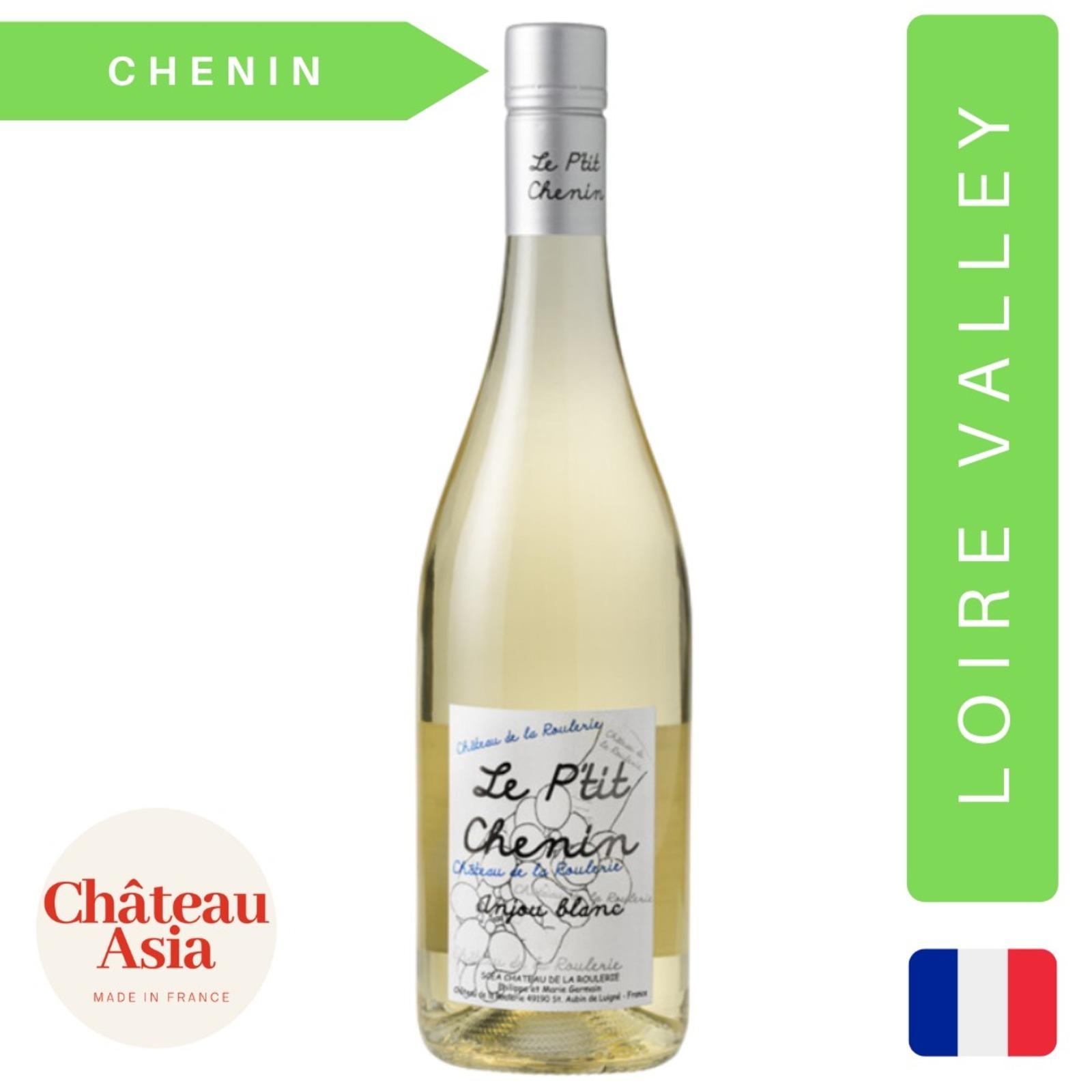 Chateau de la Roulerie-Le Ptit Chenin-Anjou-Organic White Wine