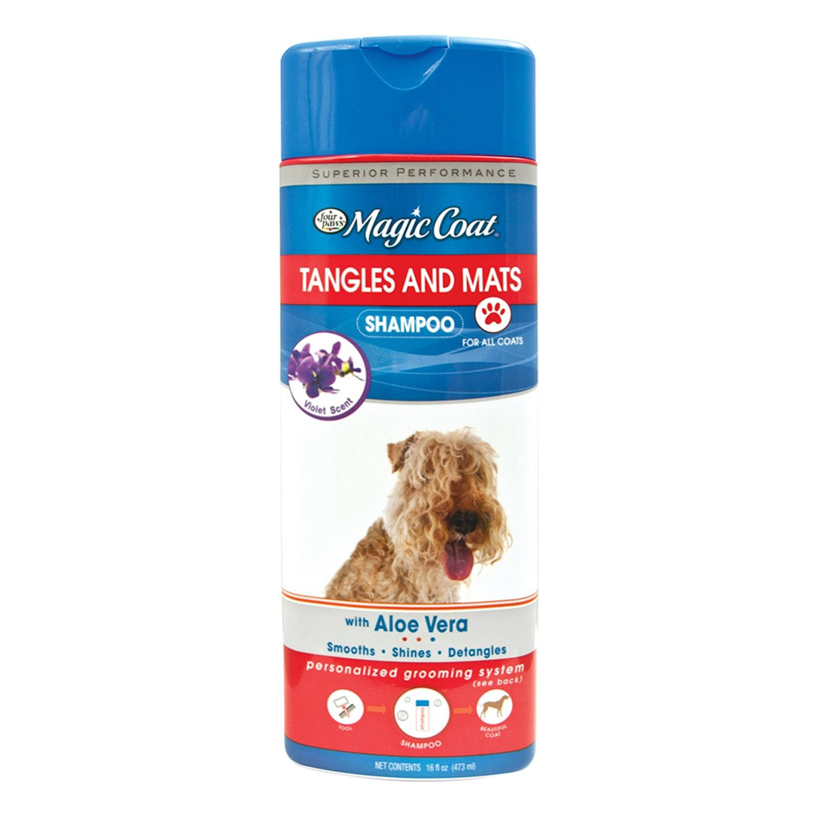 Four Paws Tangles & Mats Shampoo