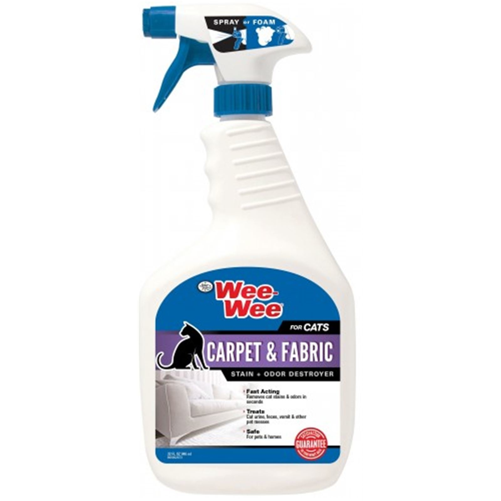 Four Paws CAT Carpet & Fab Stain & Odor Destroyer