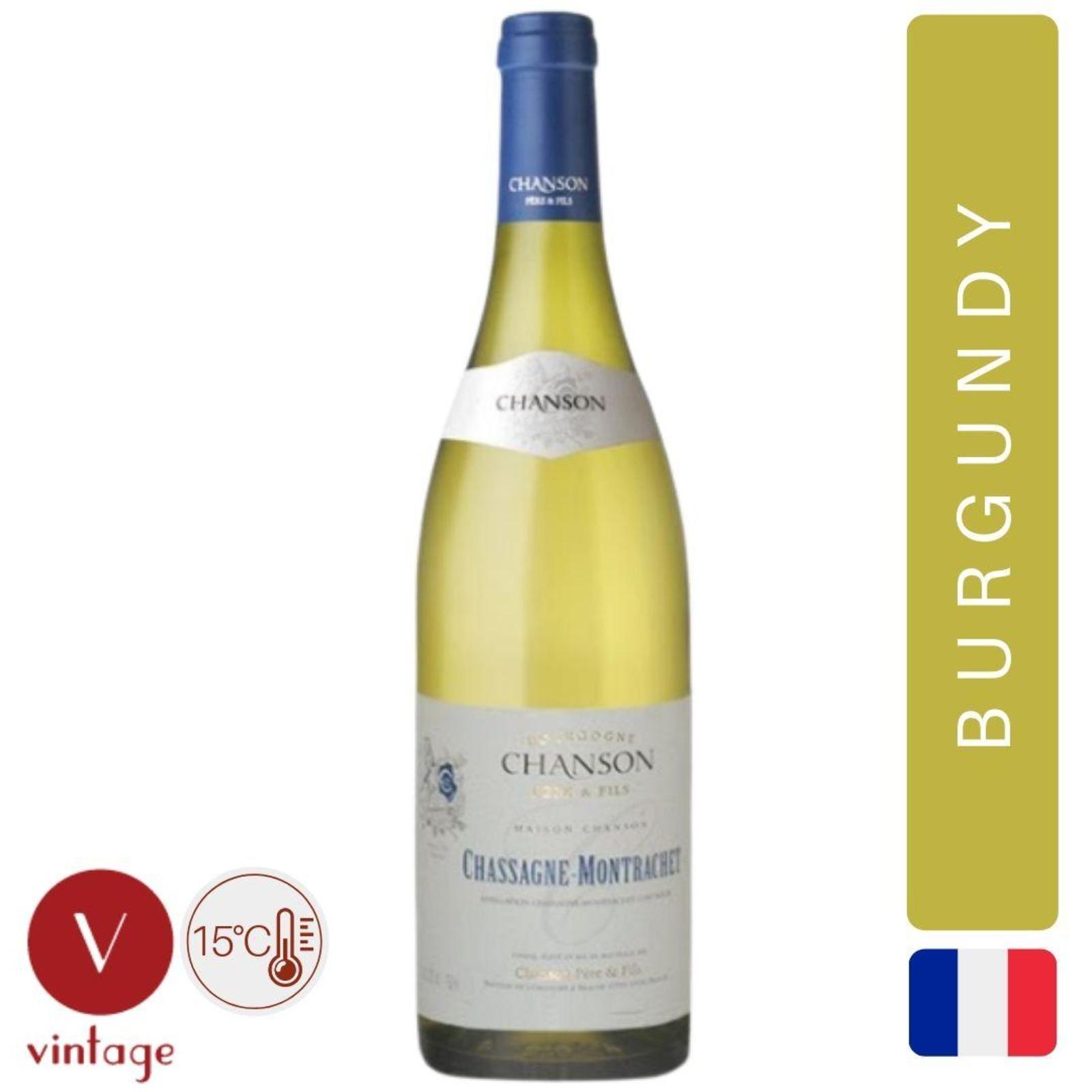 Domaine Chanson - Chassagne-Montrachet - Burgundy White Wine