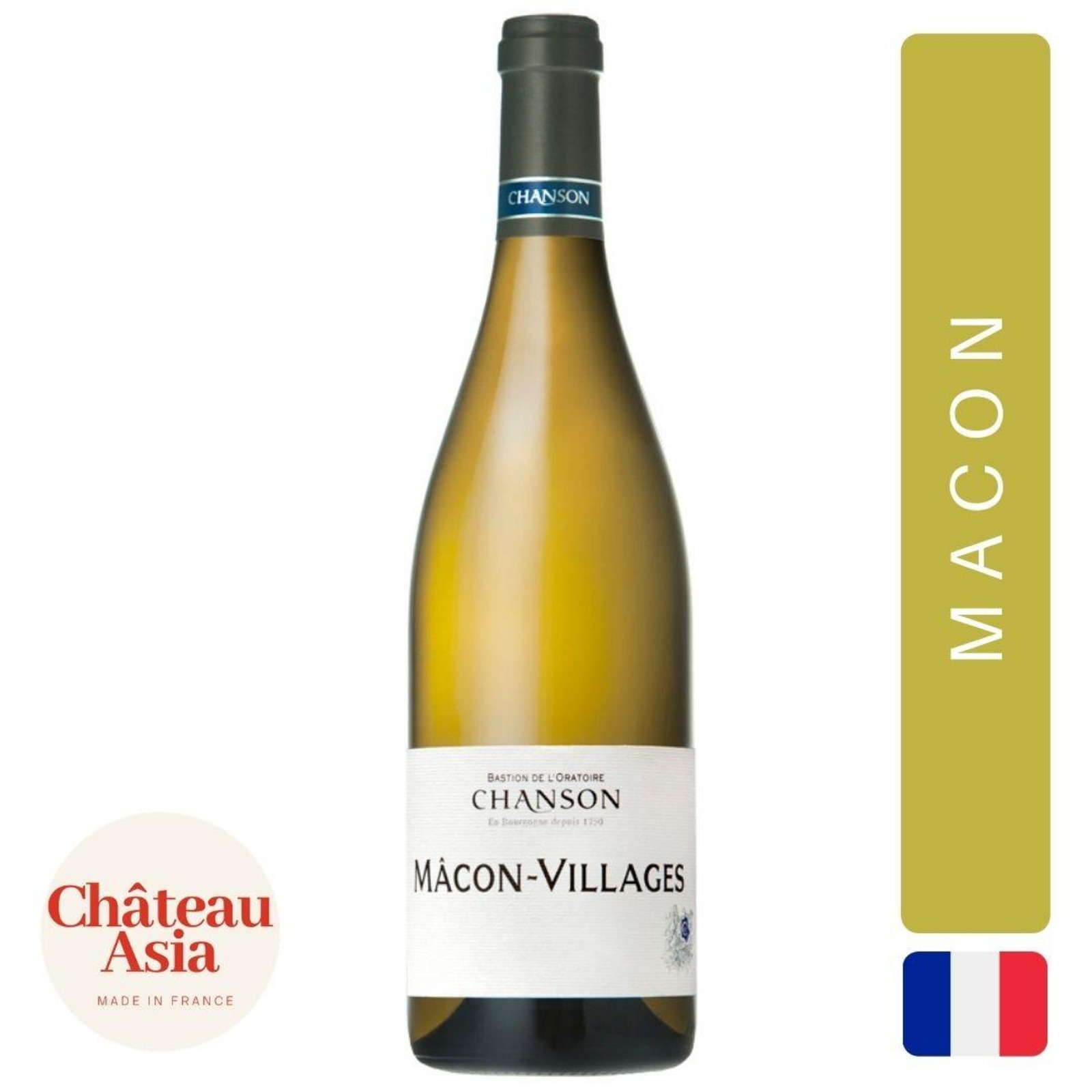 Domaine Chanson - Macon Villages - Burgundy White Wine