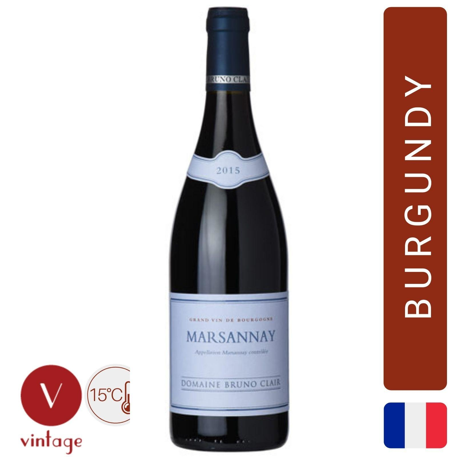 Domaine Bruno Clair - Marsannay - Burgundy Red Wine
