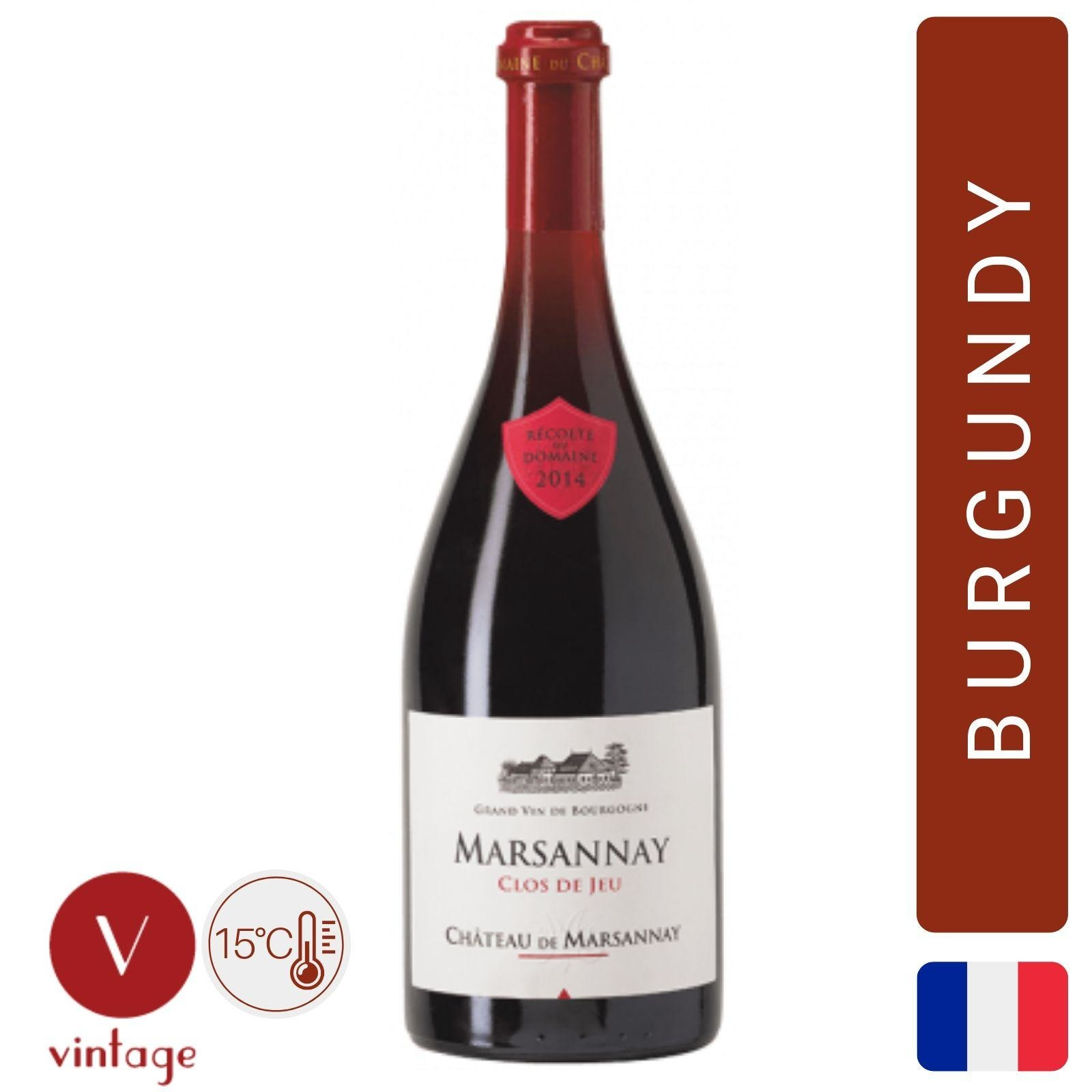 Chateau de Marsannay - Clos de Jeu - Burgundy Red Wine