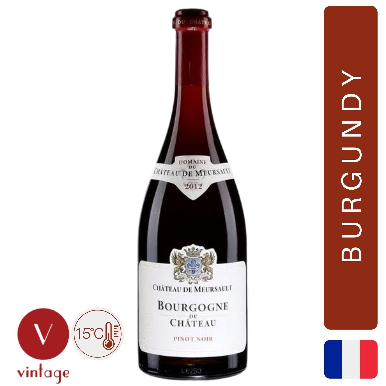 Chateau de Meursault - Pinot Noir - Burgundy Red Wine