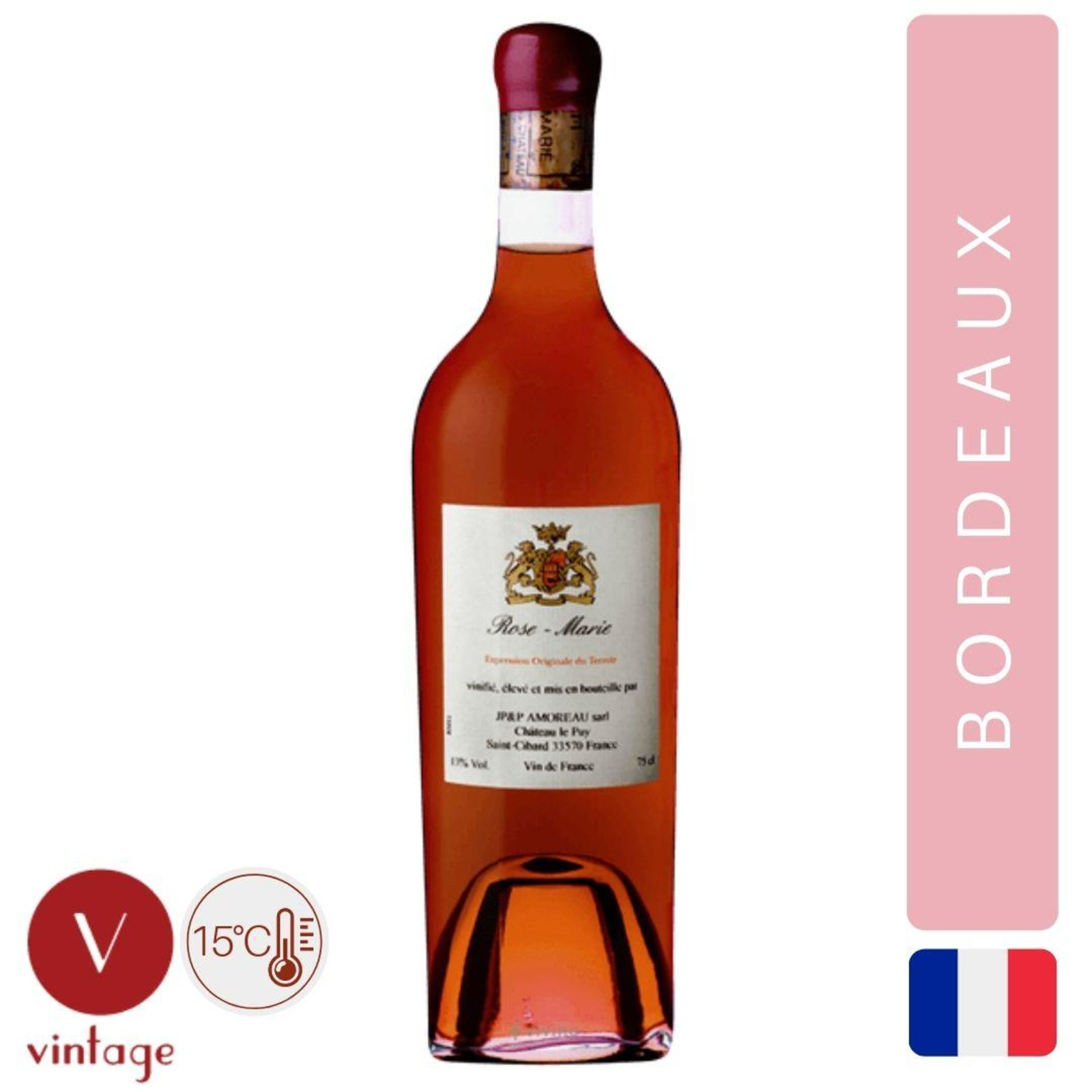 Chateau Le Puy - Rose Marie - Bordeaux Rose Wine