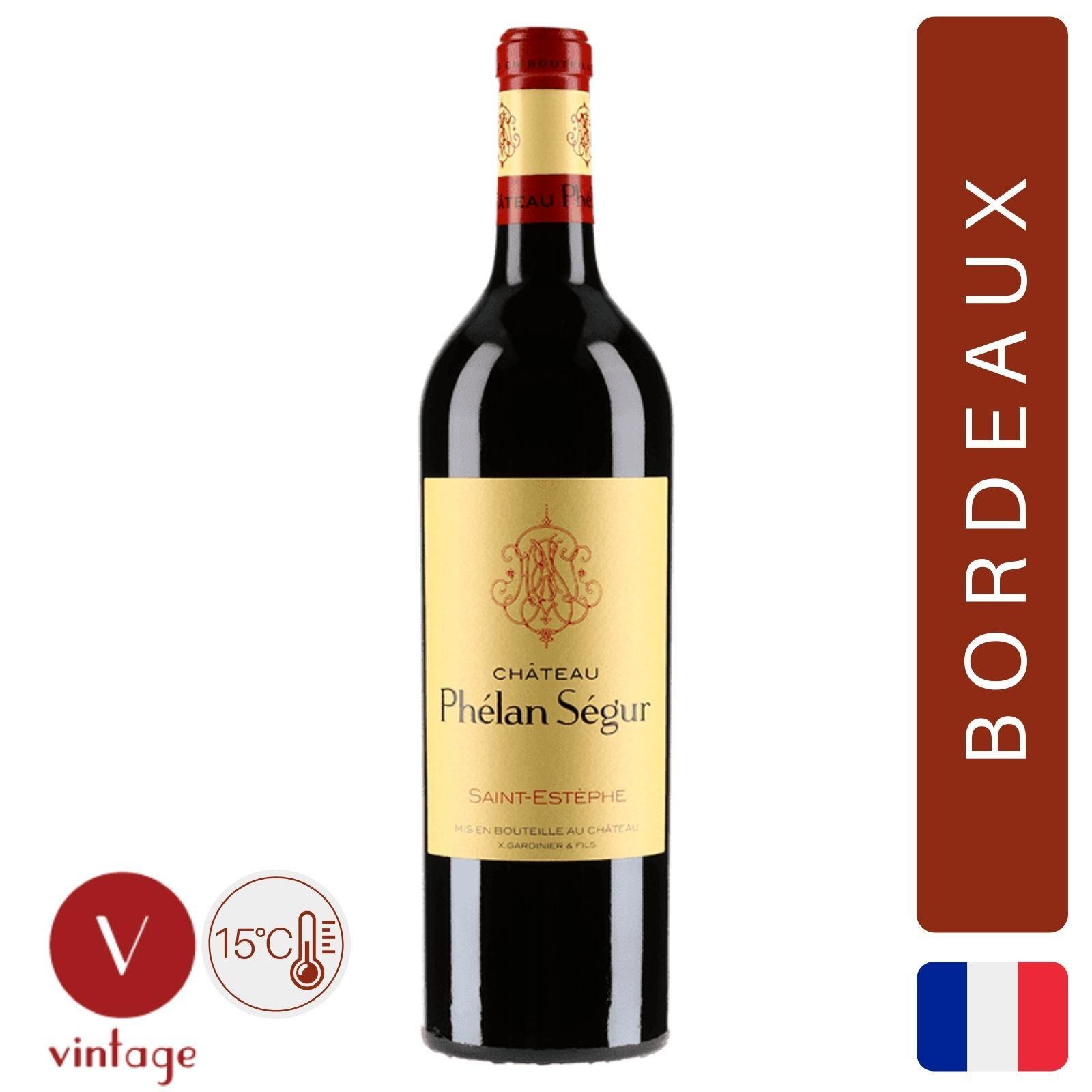 Chateau Phelan Segur - Saint Estephe - Bordeaux Red Wine