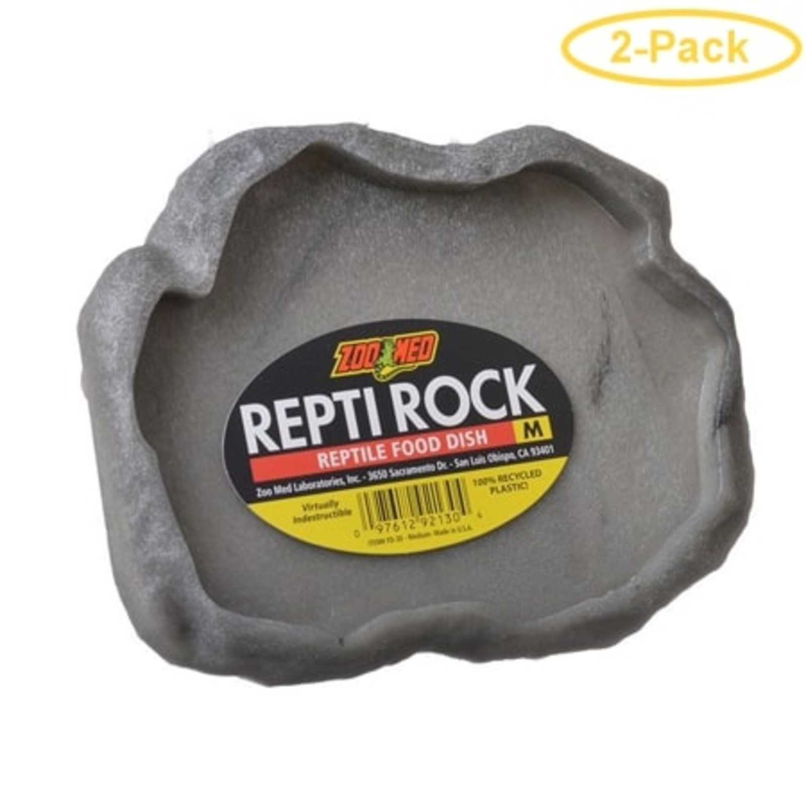 Zoo Med Repti Rock Food Dish (M)