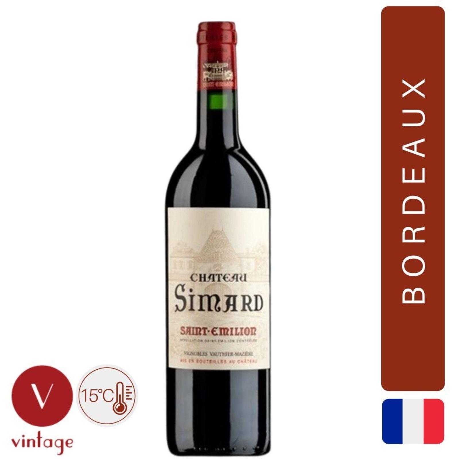 Chateau Simard - Saint Emilion Grand Cru - Bordeaux Red Wine