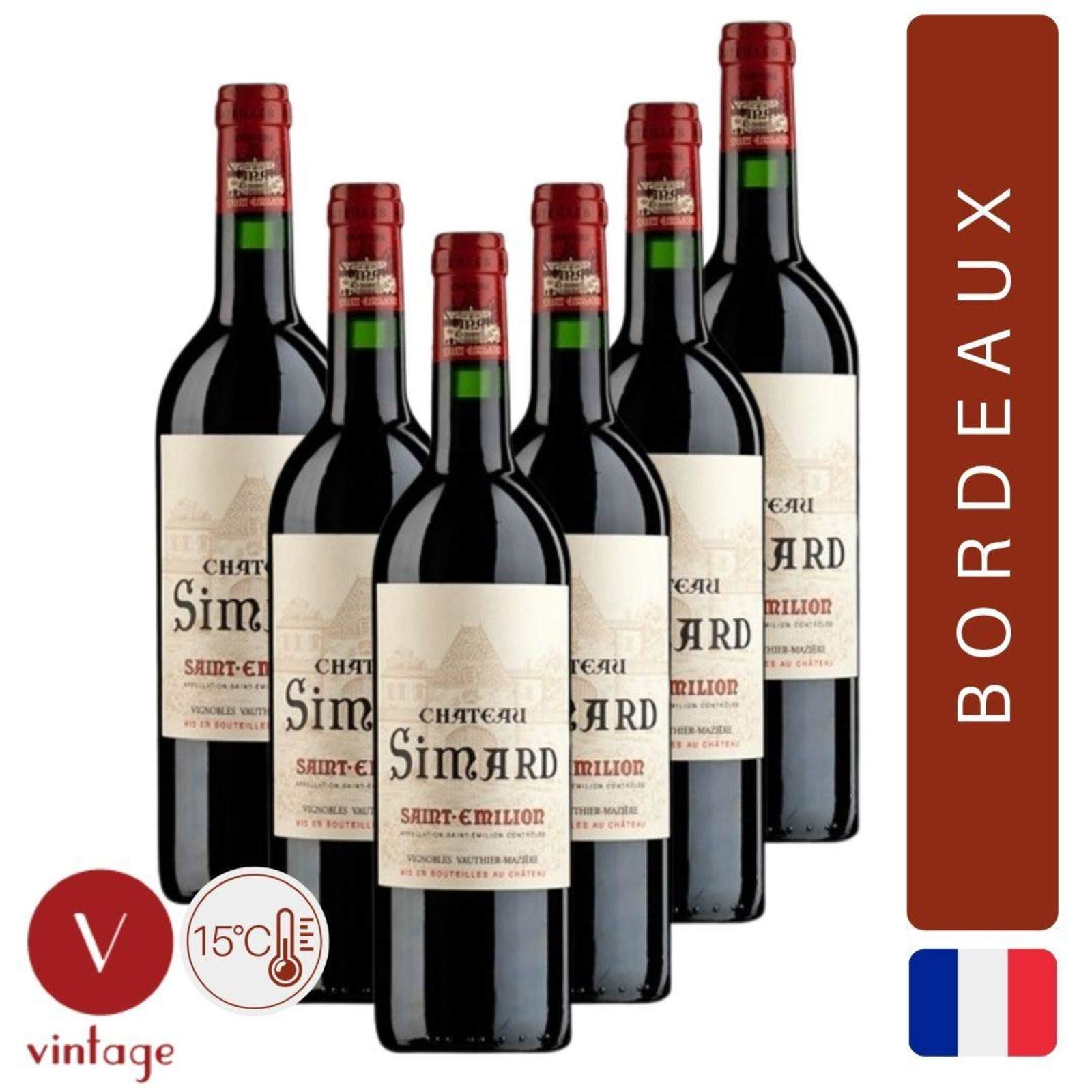 Chateau Simard - Saint Emilion Grand Cru - Bordeaux Red