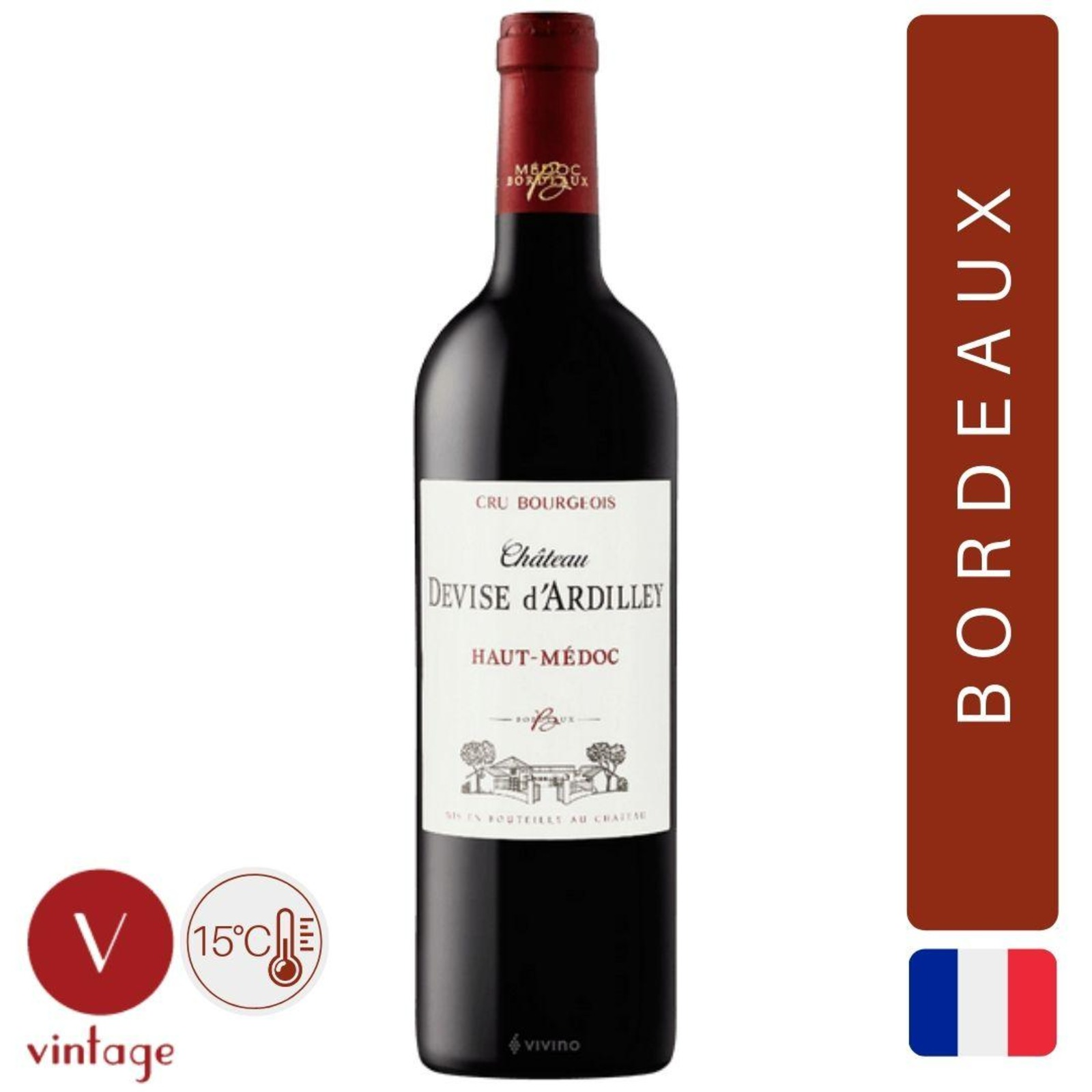 Chateau Devise d'Ardilley - Bordeaux Red Wine