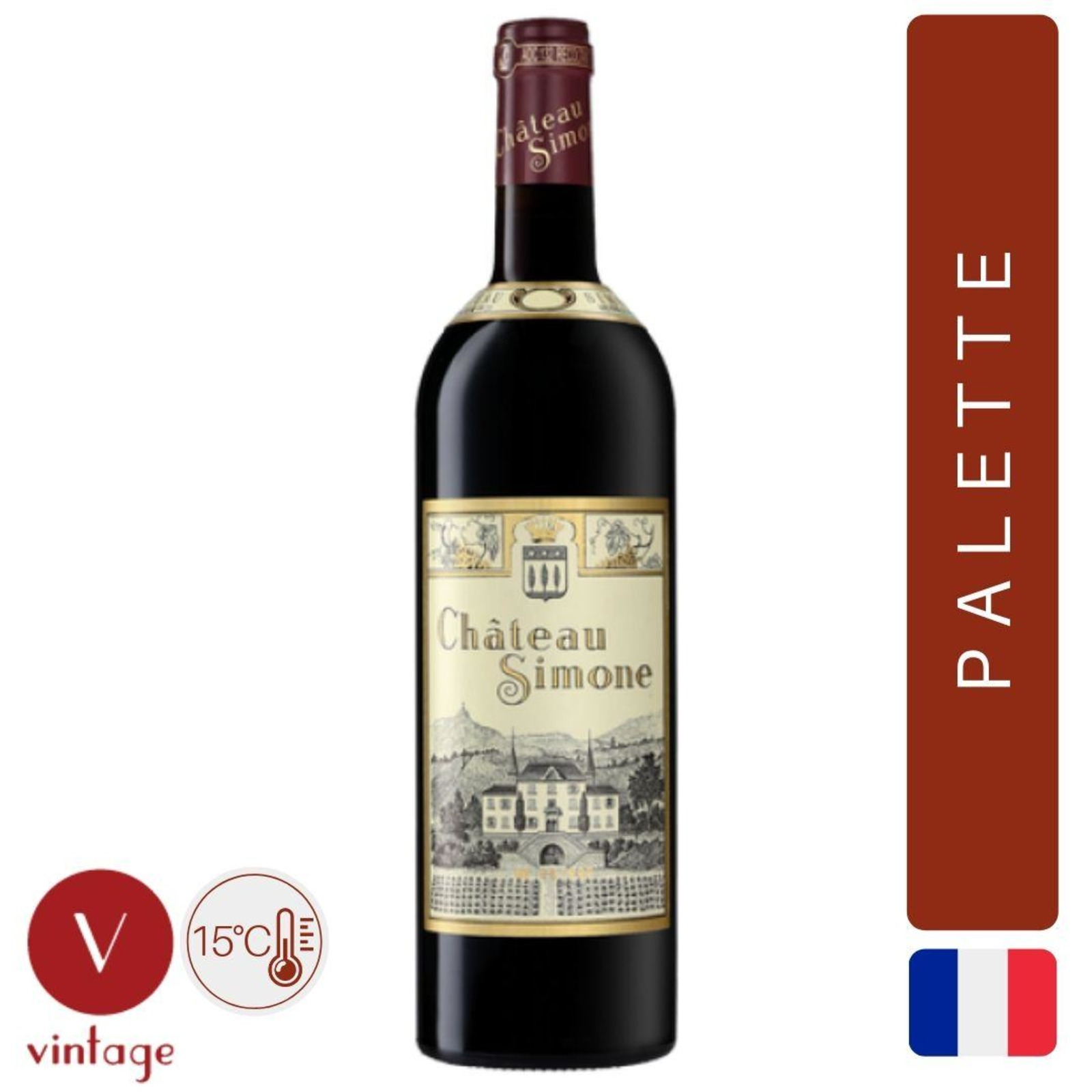 Chateau Simone - Provence Red Wine