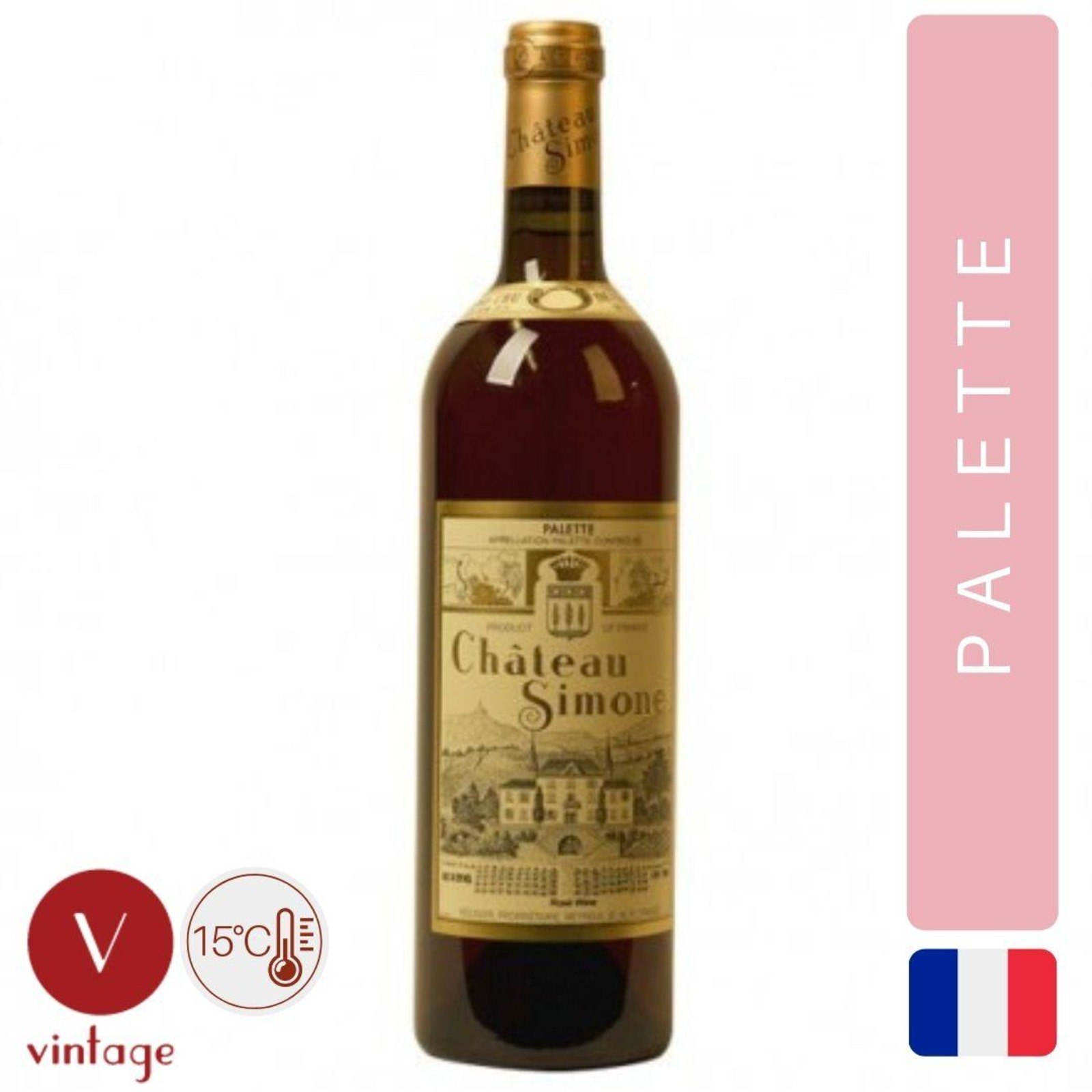 Chateau Simone - Provence Rose Wine