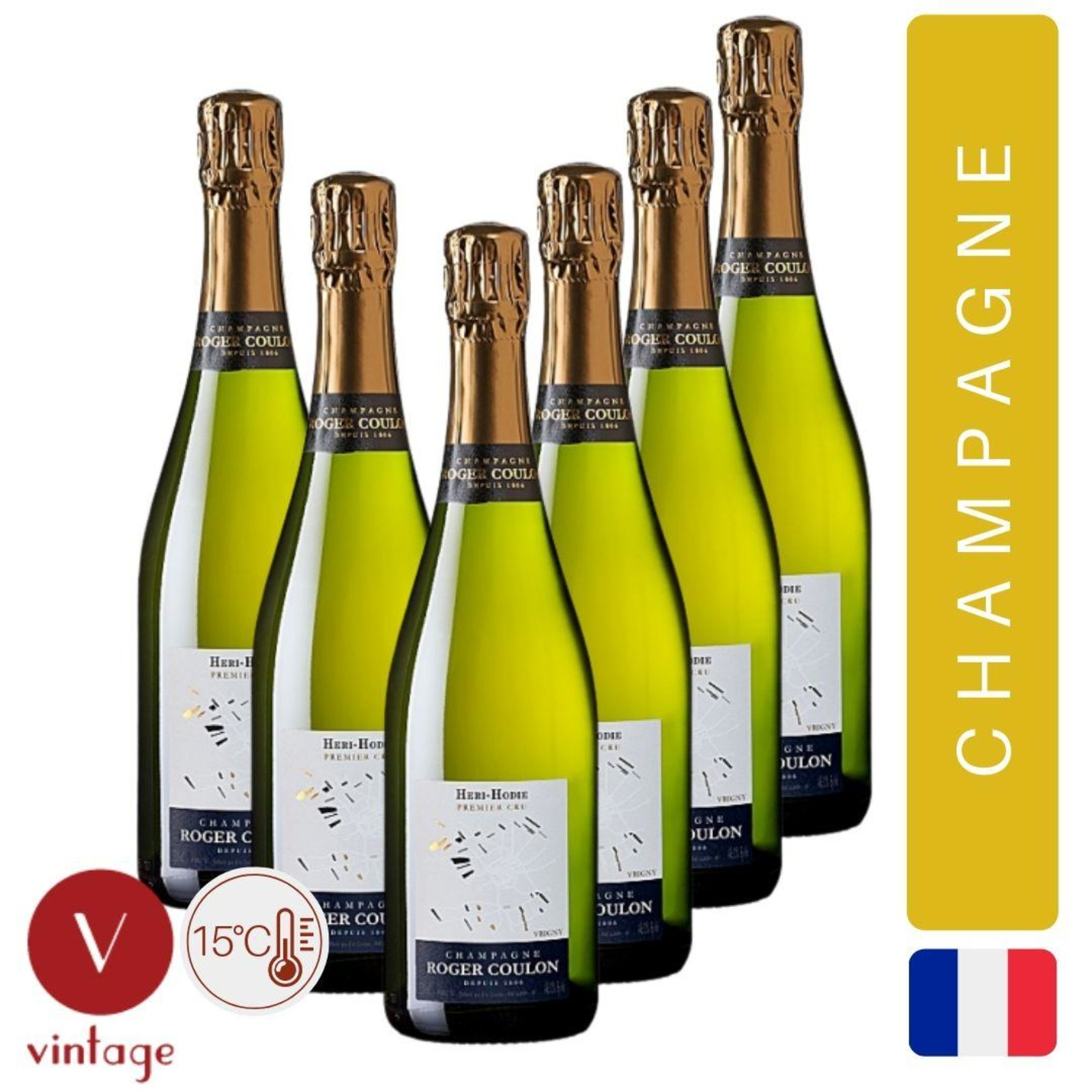 Champagne Roger Coulon - Cuvee Heri-Hodie 1er Cru