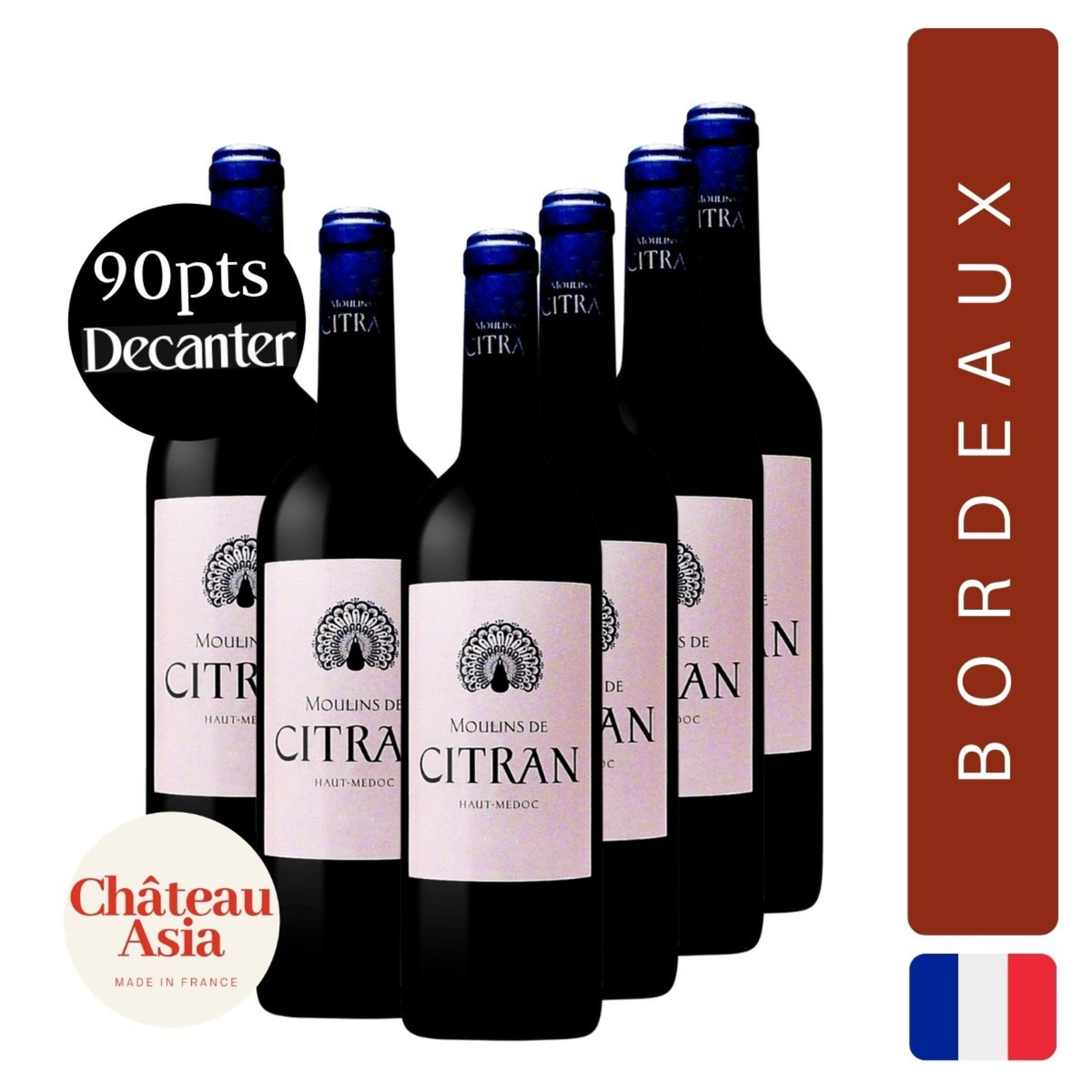 Moulins de Citran - Bordeaux Red Wine