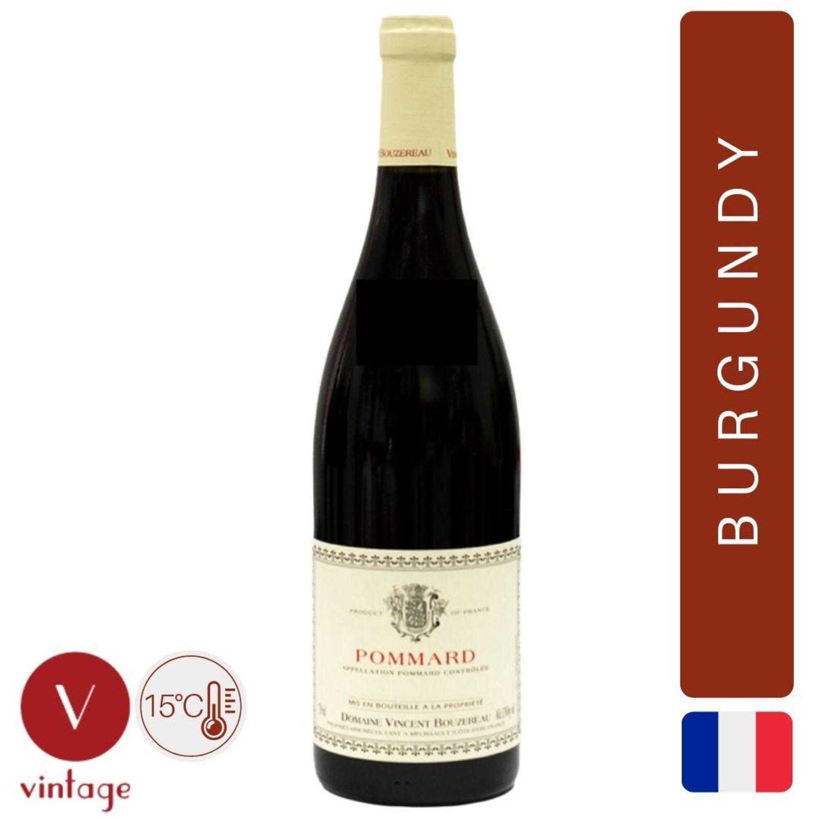 Domaine Vincent Bouzereau - Pommard - Burgundy Pinot Noir
