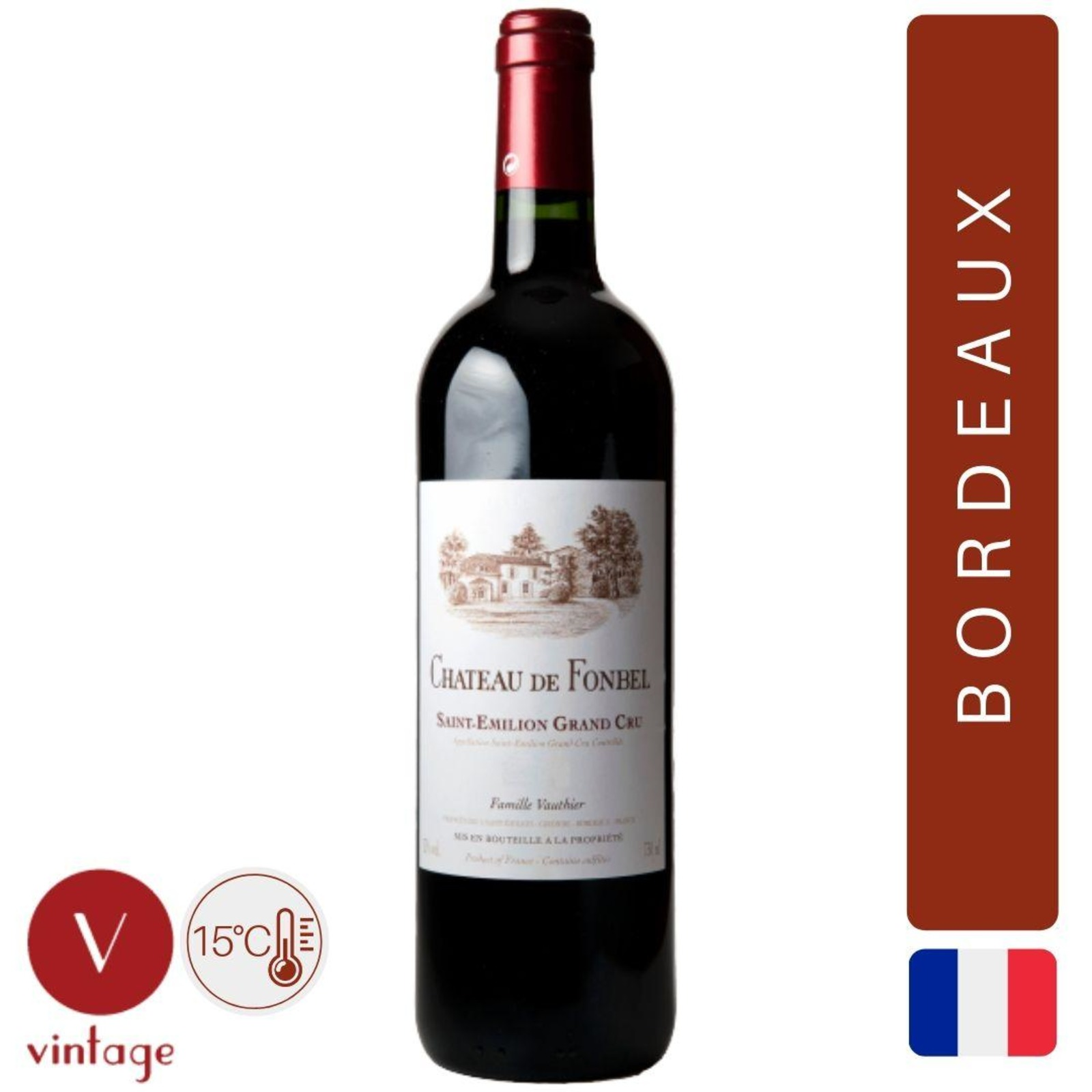 Chateau Fonbel - Saint Emilion Grand Cru - Bordeaux Red Wine