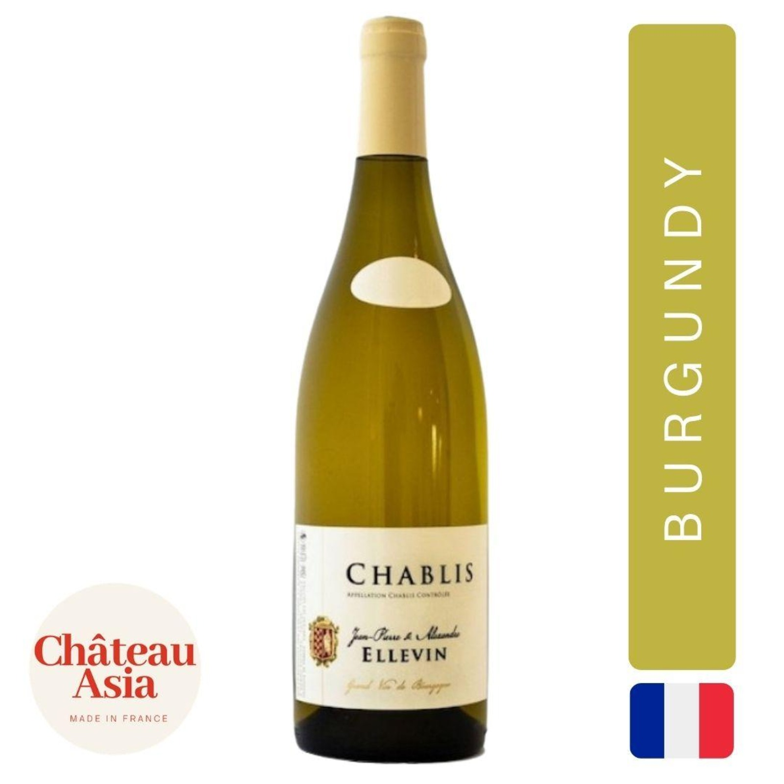 Domaine Ellevin - Chablis - Burgundy White Wine