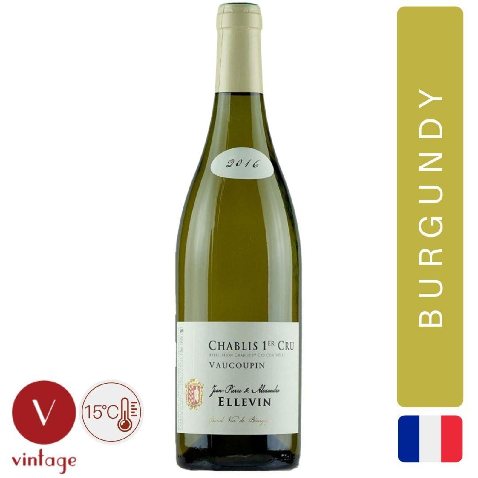 Domaine Ellevin - Chablis 1er Cru Vaucoupin - Burgundy White