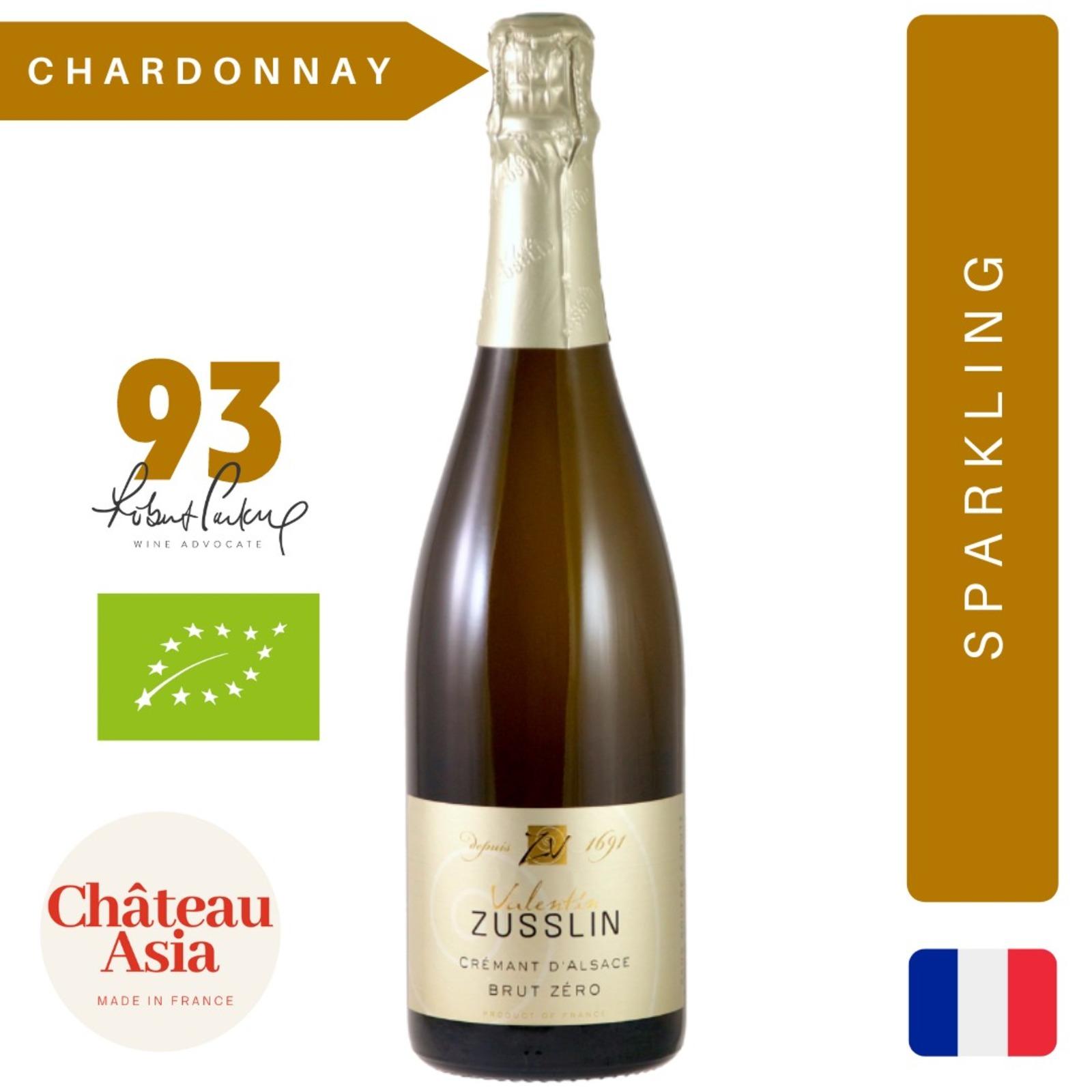 Valentin Zusslin - Cremant Brut Zero - Sparkling White Wine