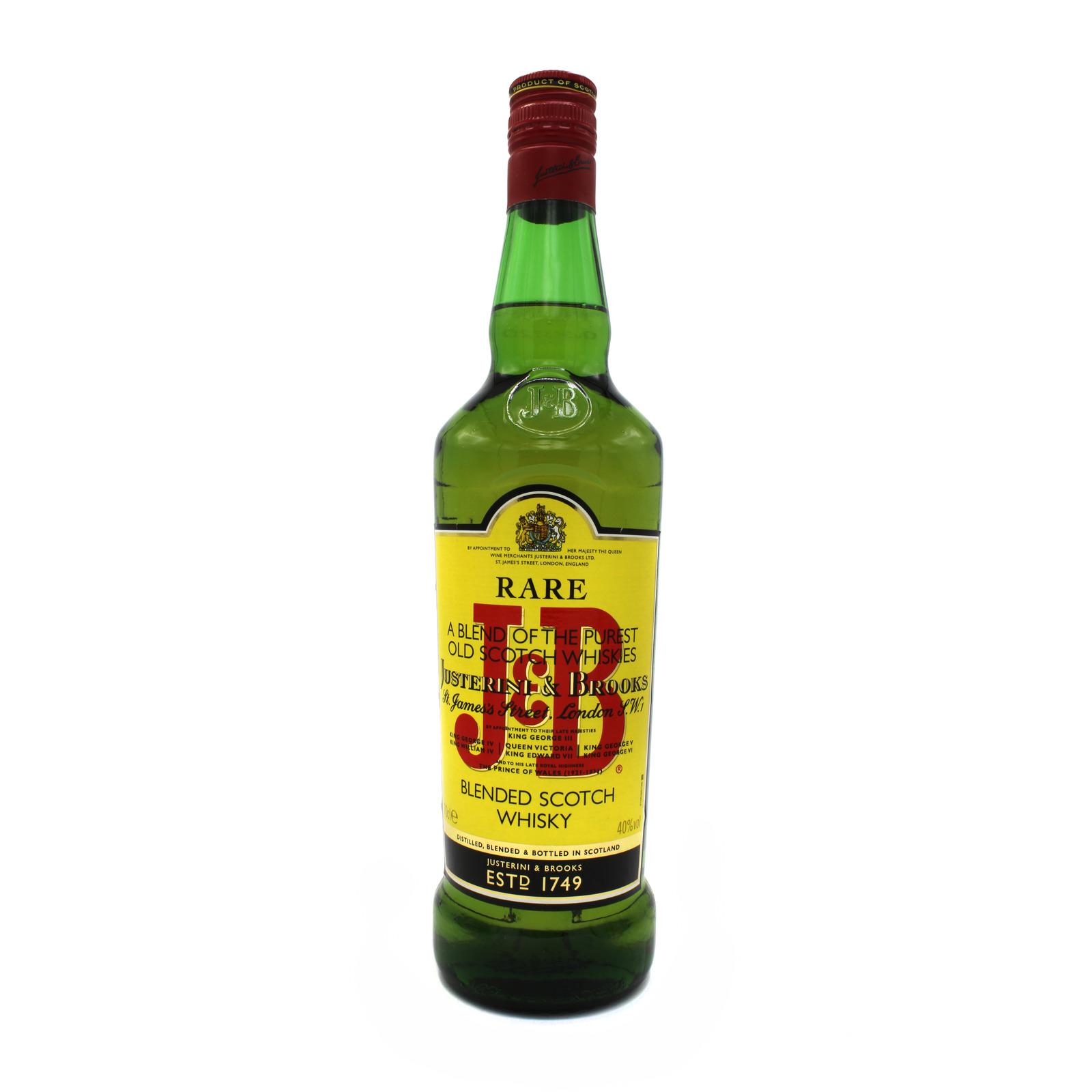J&B Rare Blended Whisky