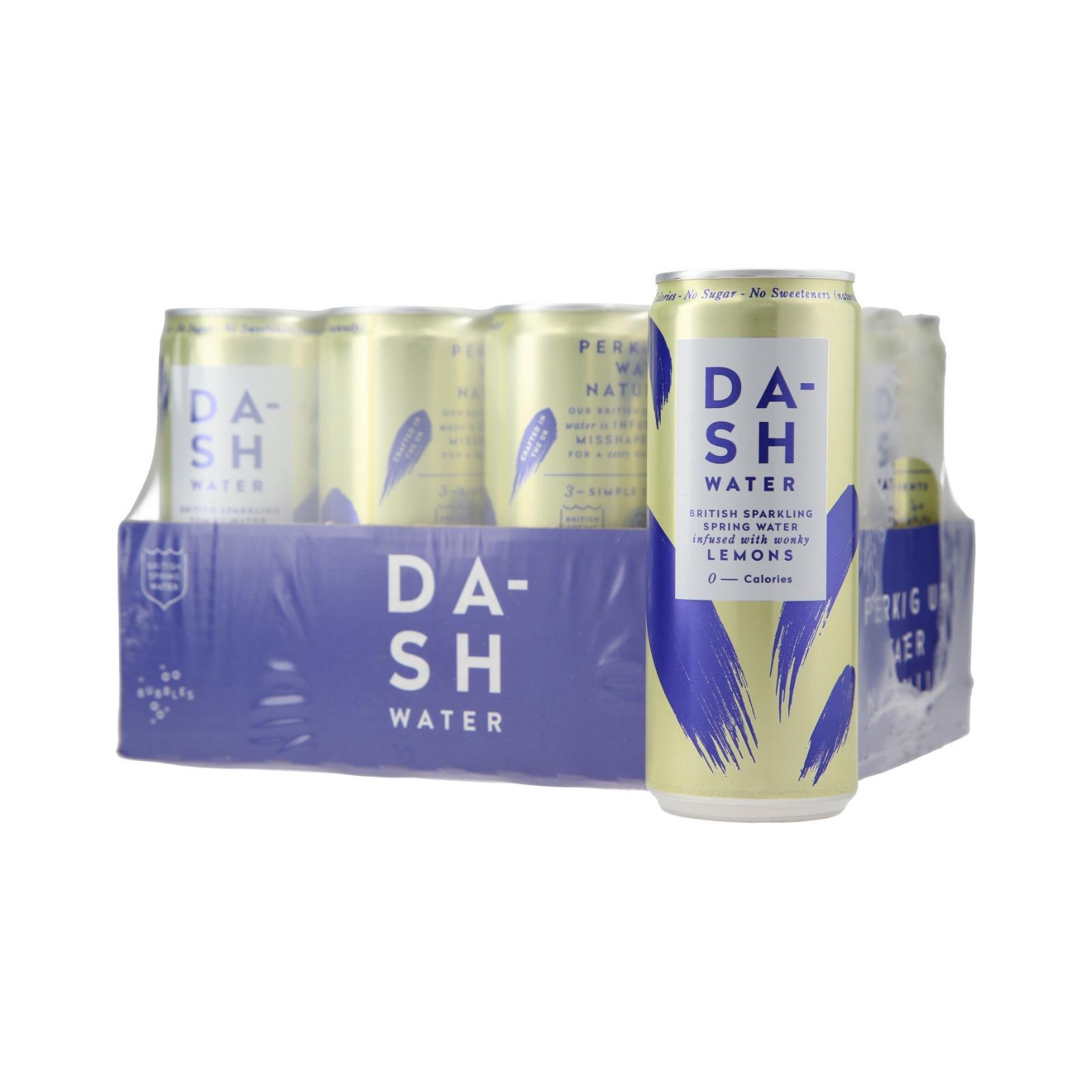 Dash Water Lemon Infused Sparkling Water
