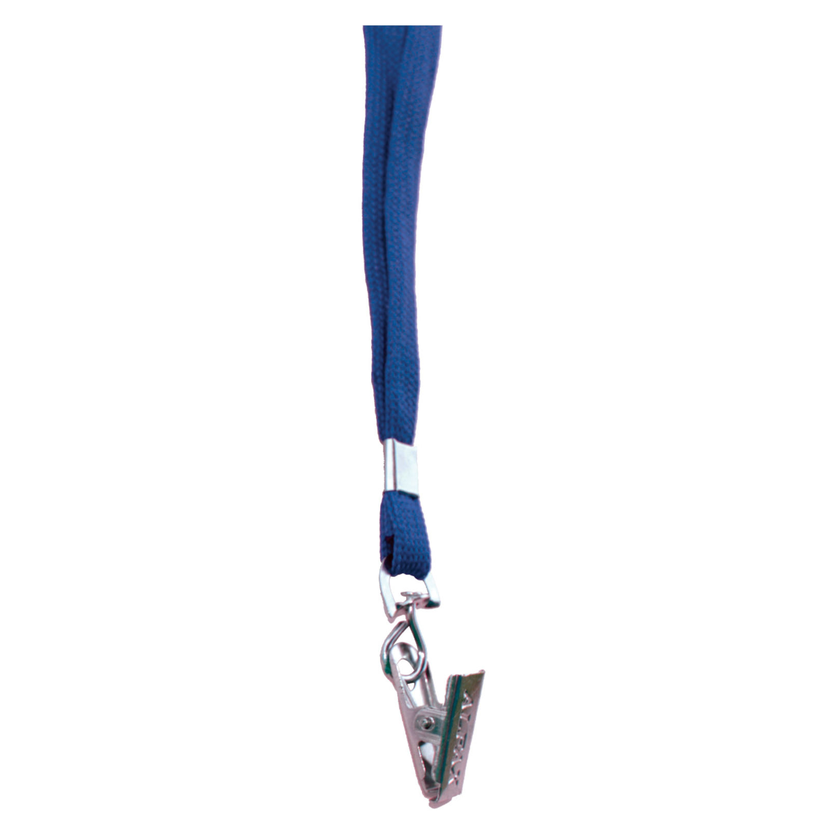 ALFAX 112 Lanyard with Metal Clip 10's Blue