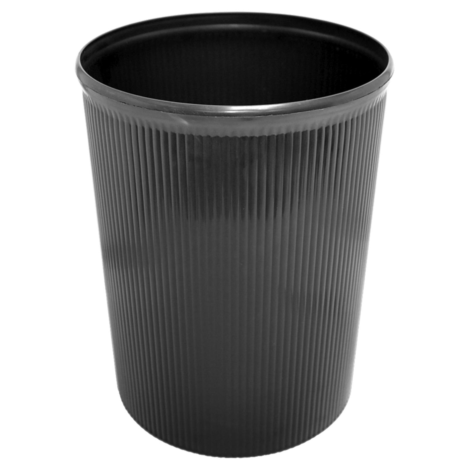 ALFAX 8812 Plastic Dustbin 260x329mm Black